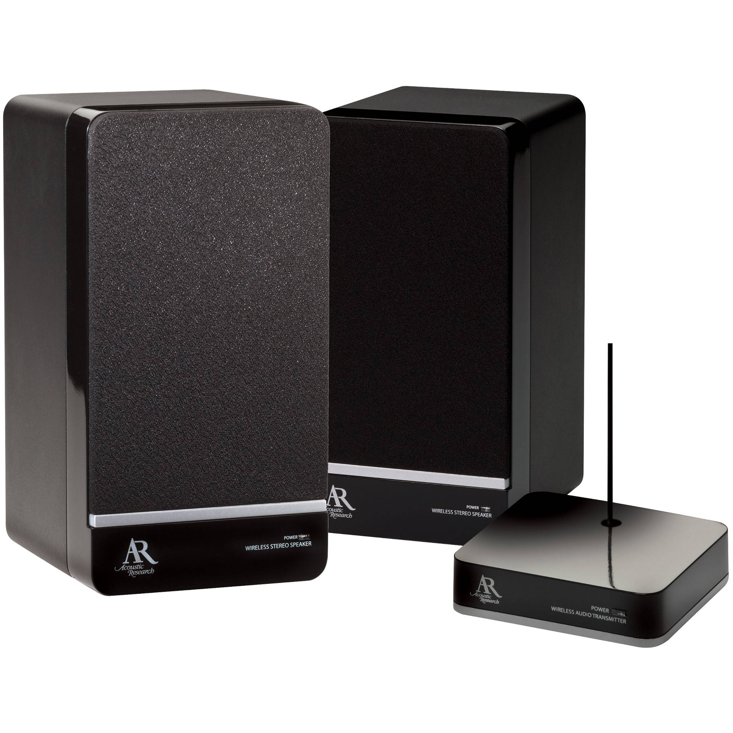 Acoustic Research AW880 Wireless Indoor Stereo Speakers Pair