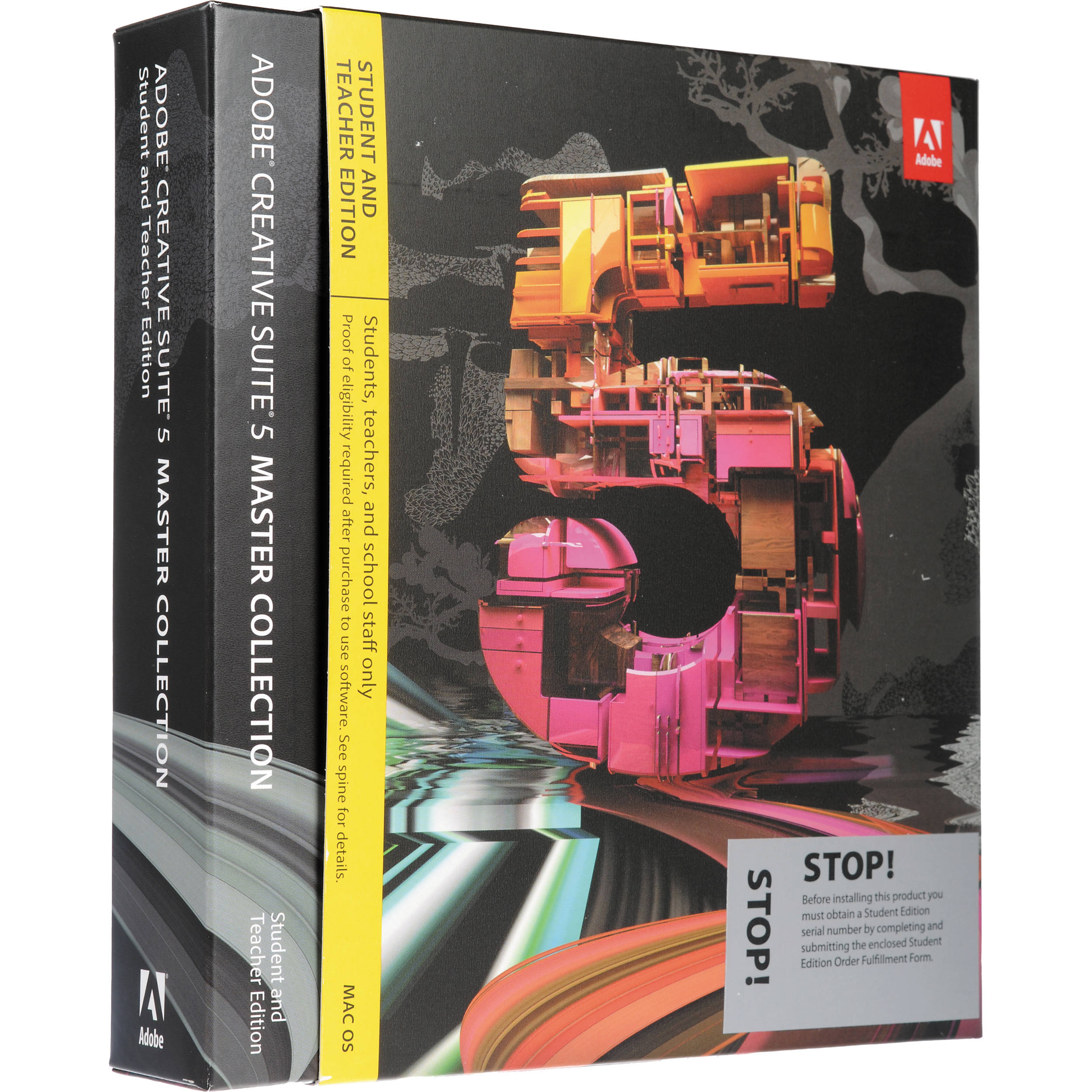 Adobe CS5 Master Collection Student and Teacher Edition Online Store
