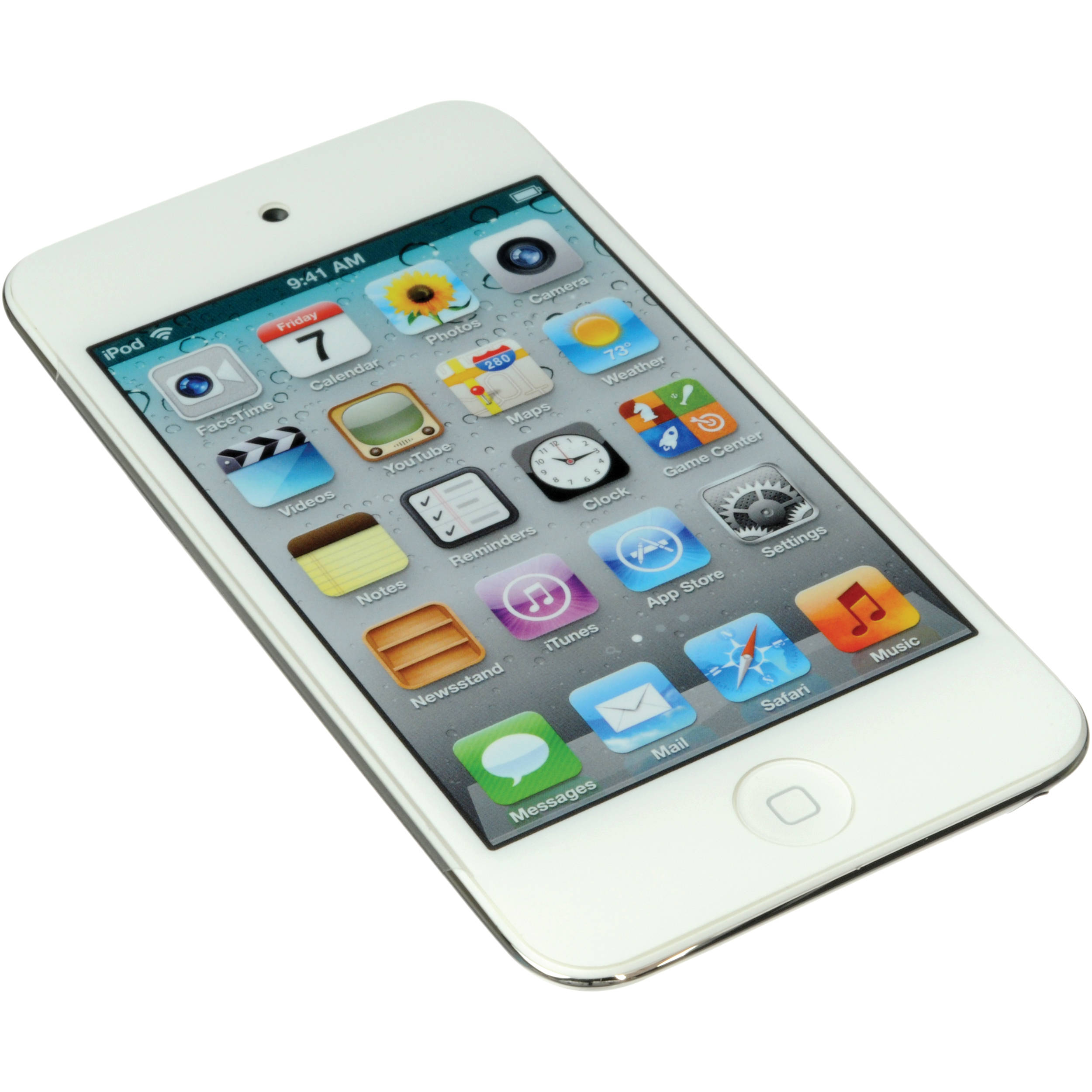 apple 32gb ipod touch white 4th generation md058ll a b h. Black Bedroom Furniture Sets. Home Design Ideas