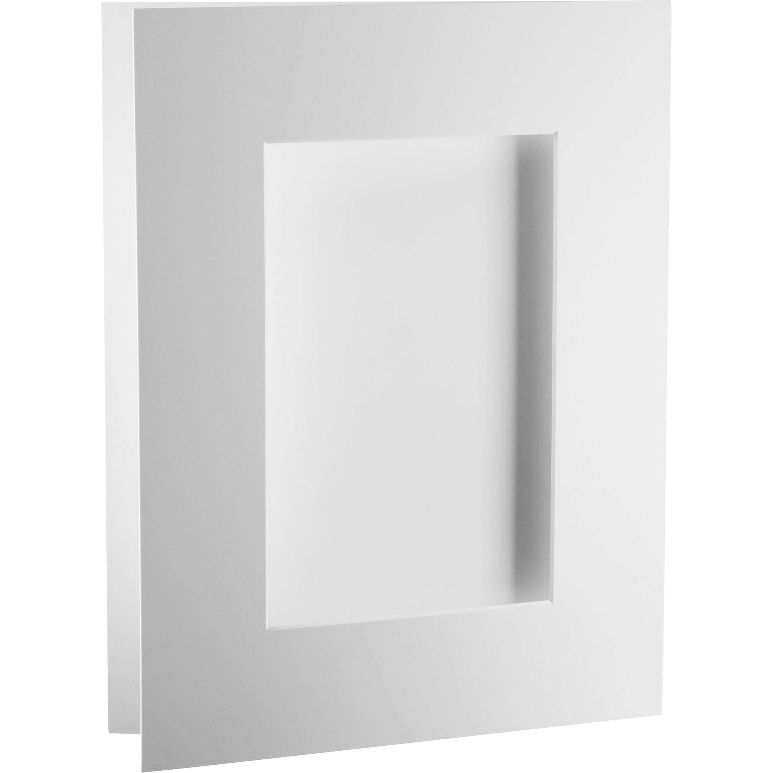 Archival Methods Bright White Pre Cut Exhibition Mat 48