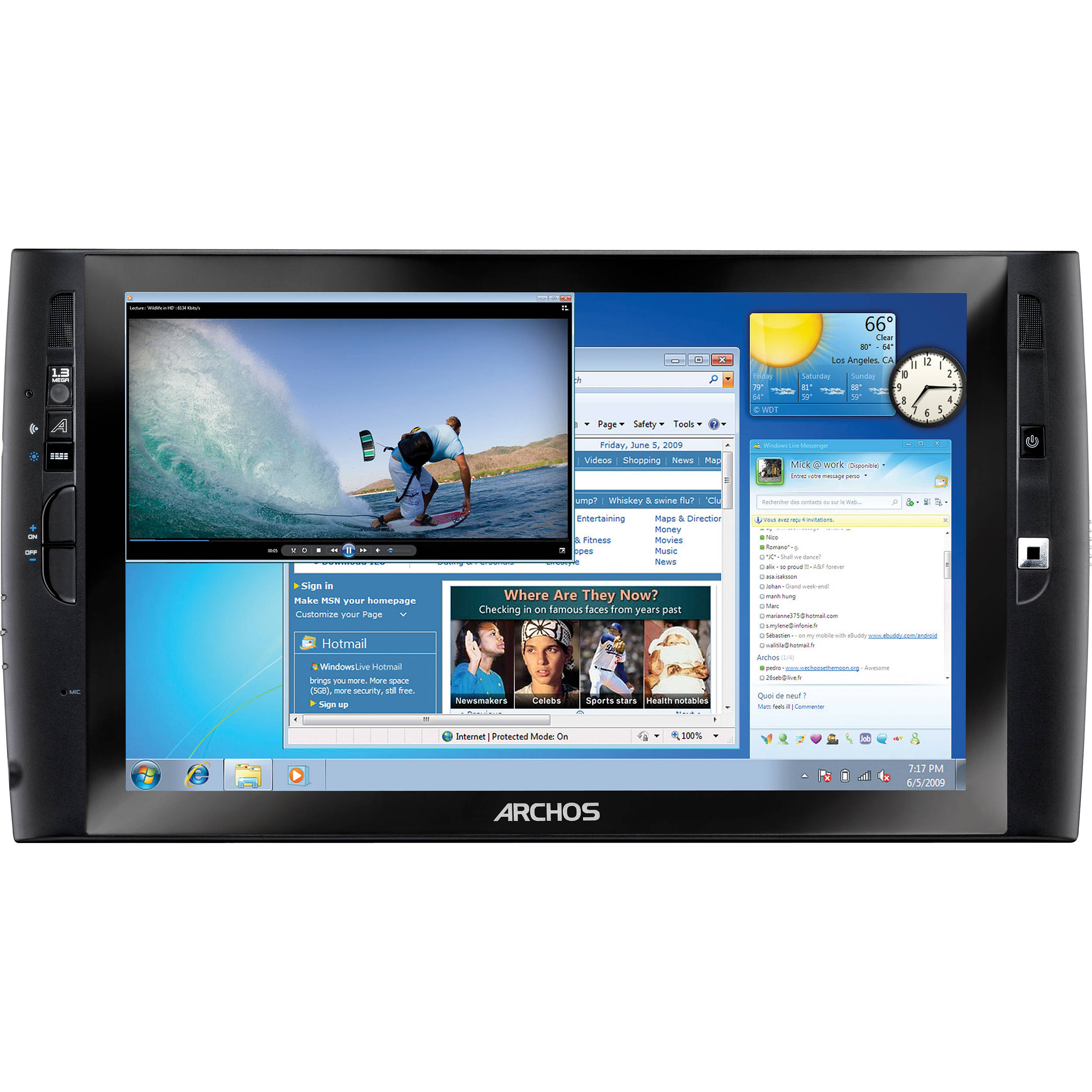 ARCHOS 9 PC Tablet Realtek Audio Driver