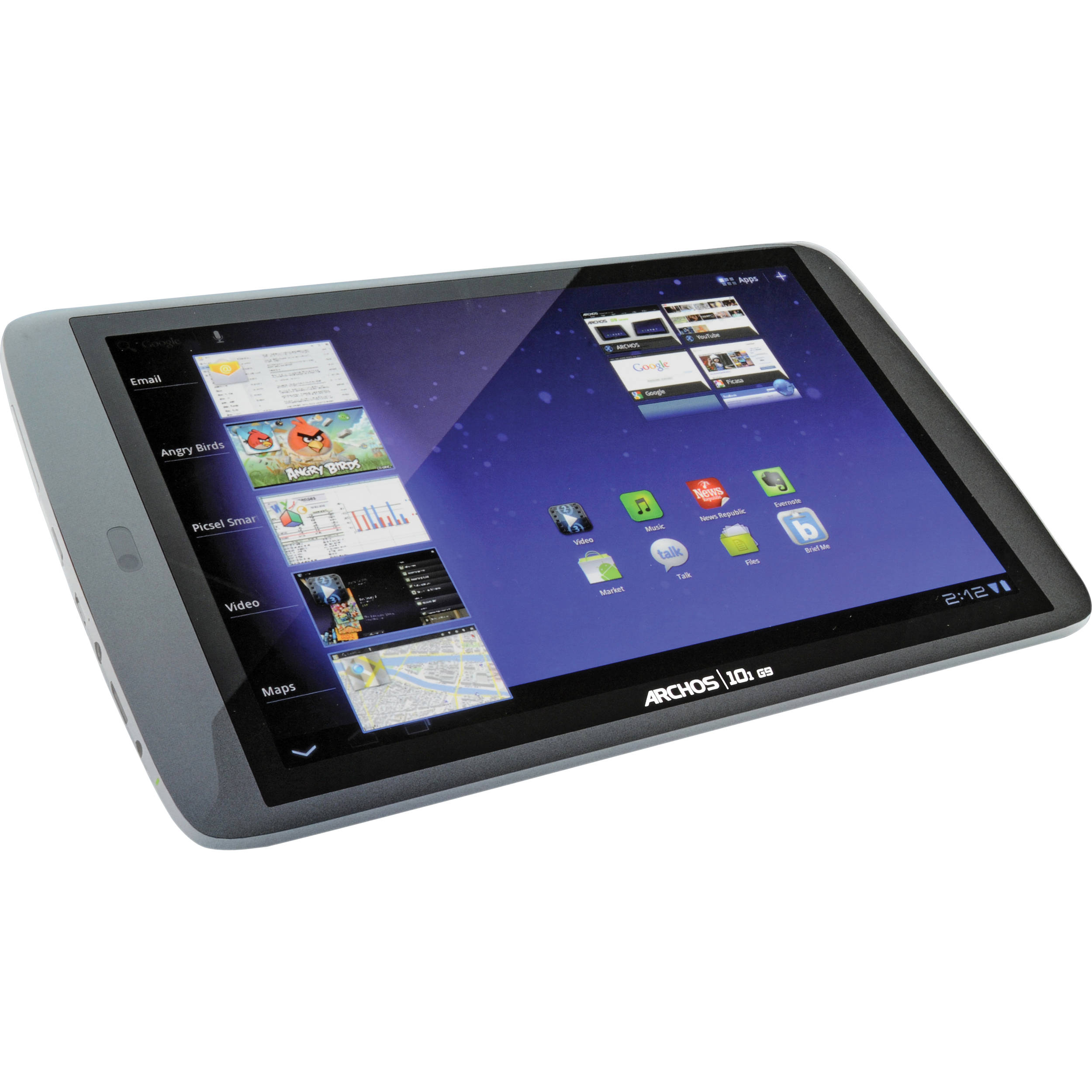archos 8gb 101 g9 10 1 android tablet 501889 b h photo rh bhphotovideo com Operators Manual Owner's Manual