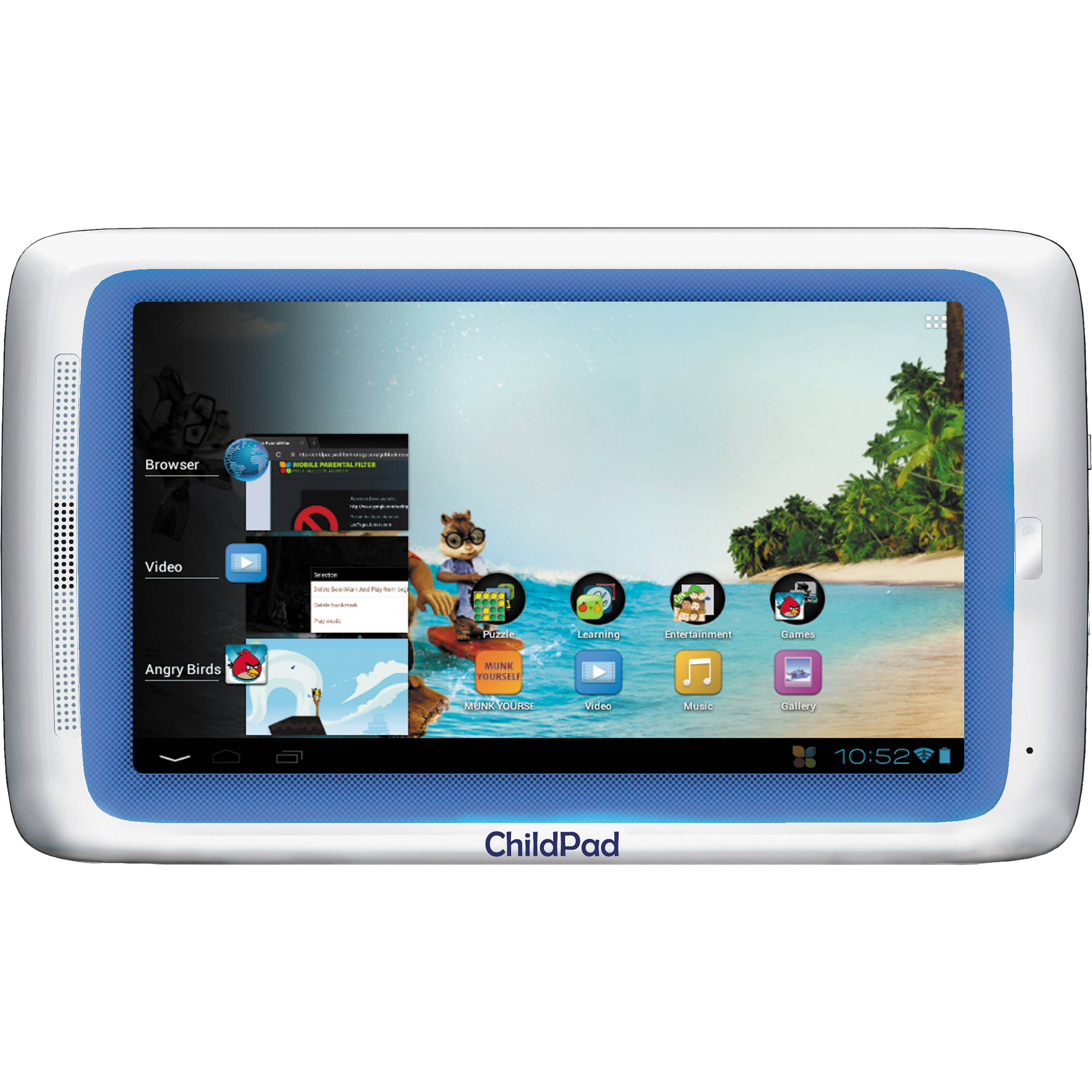 archos 4gb child pad 7 android 40 capacitive tablet