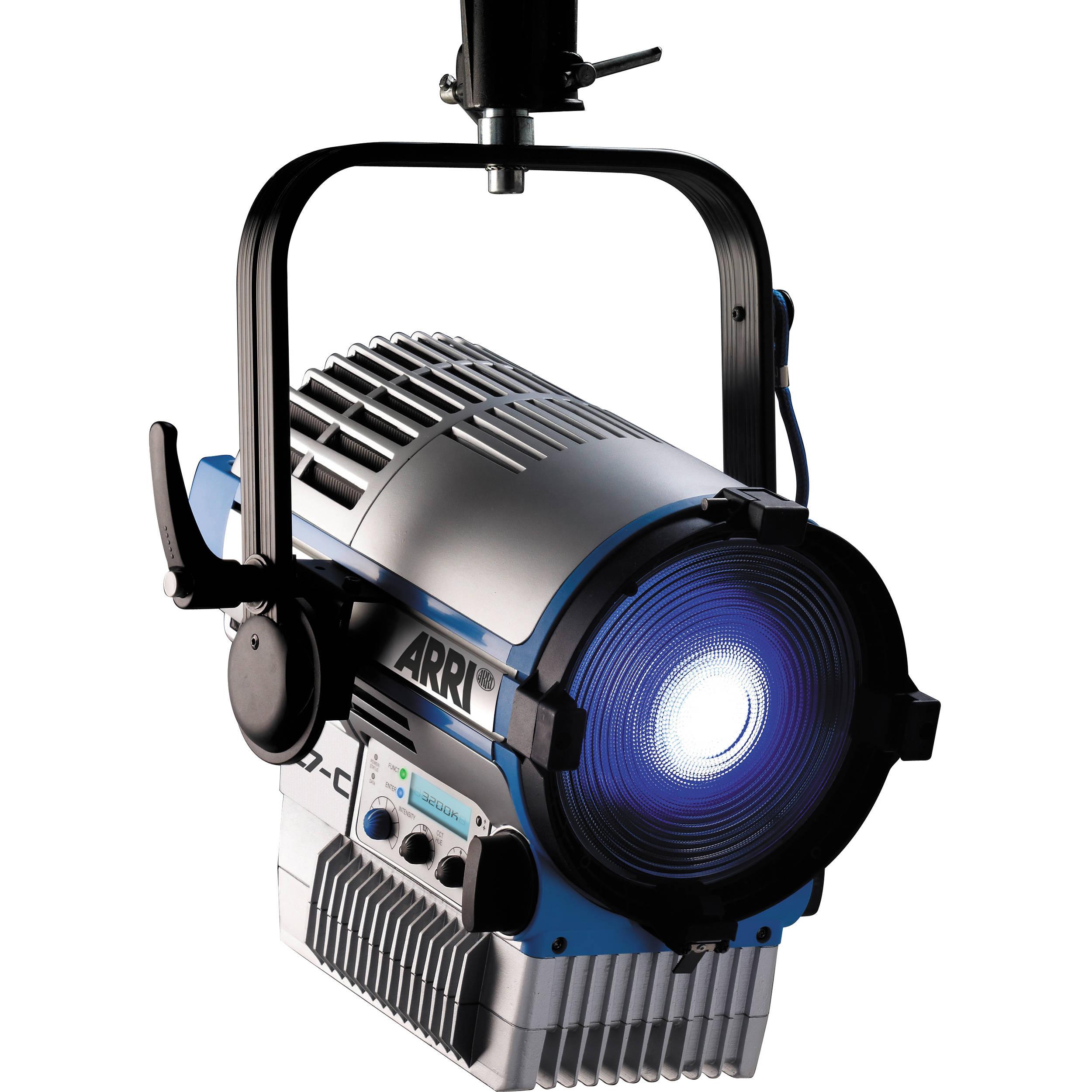 Similar model shown for illustrative purposes  sc 1 st  Bu0026H & ARRI L-7D Daylight LED Fresnel (Stand Mount) 553500D Bu0026H Photo