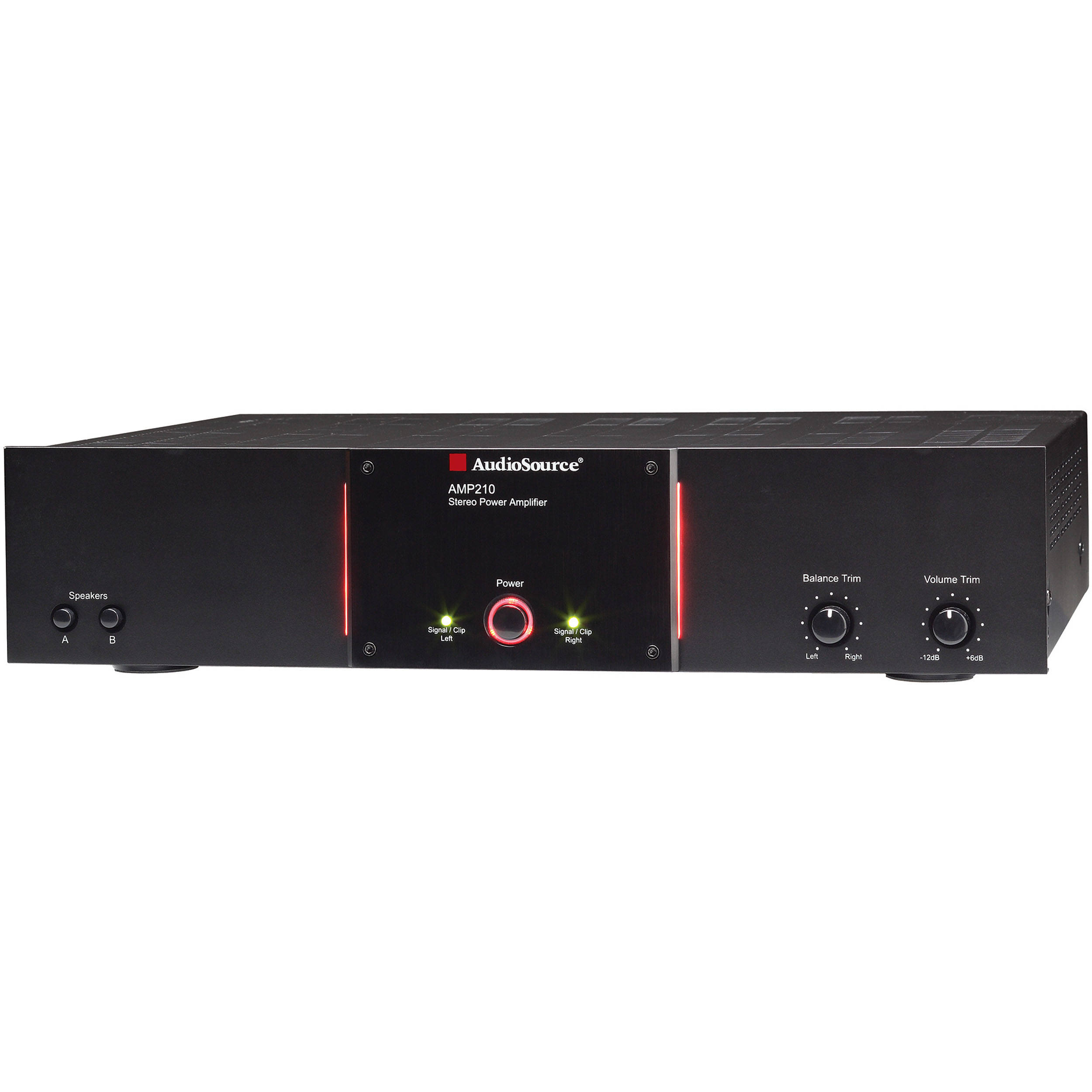audiosource amp210 power amplifier amp 210 b h photo video rh bhphotovideo com Audio Source Amp 7 AudioSource AMP 310 Review