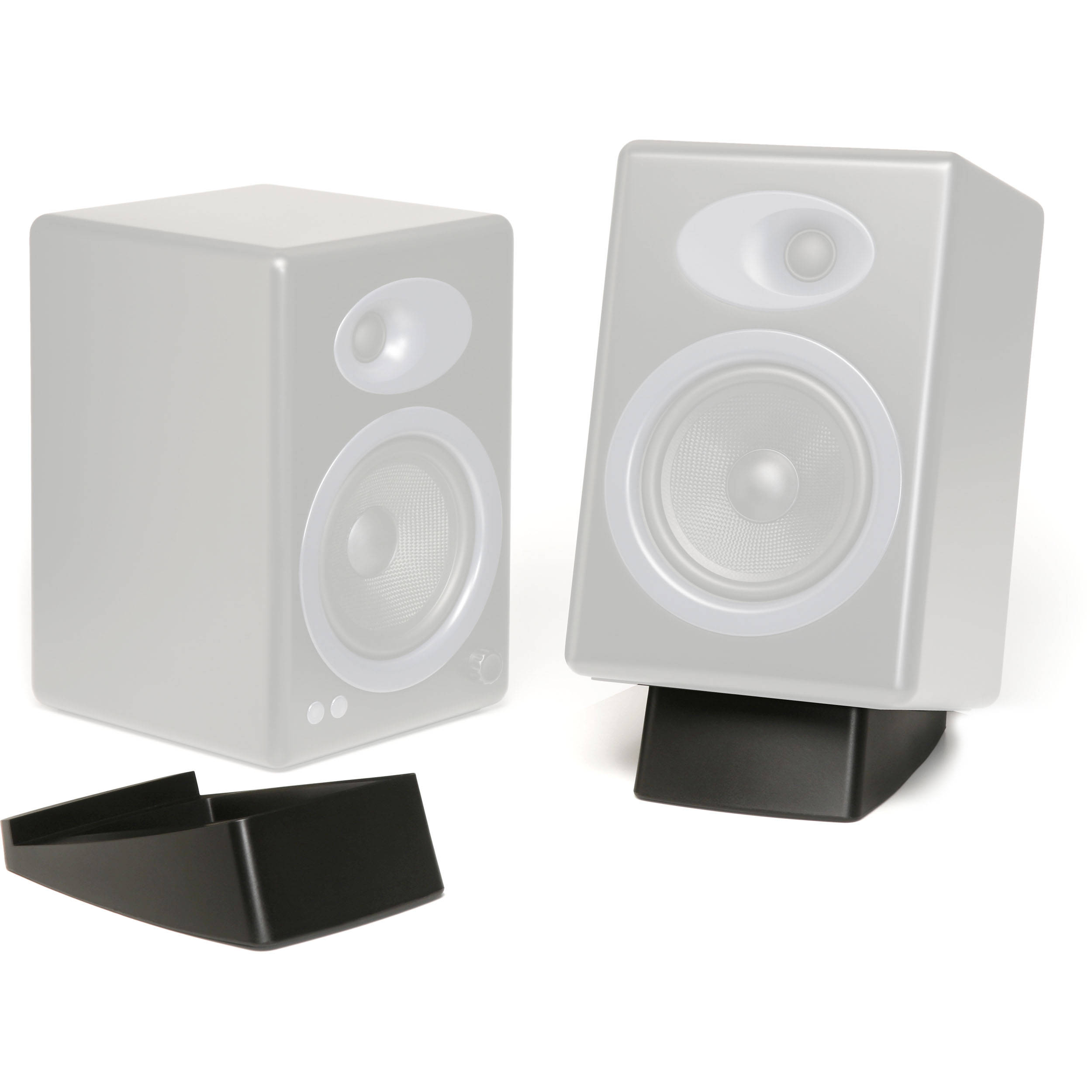 Audioengine Ds2 Desktop Stand Pair Black Ds2 B H Photo Video