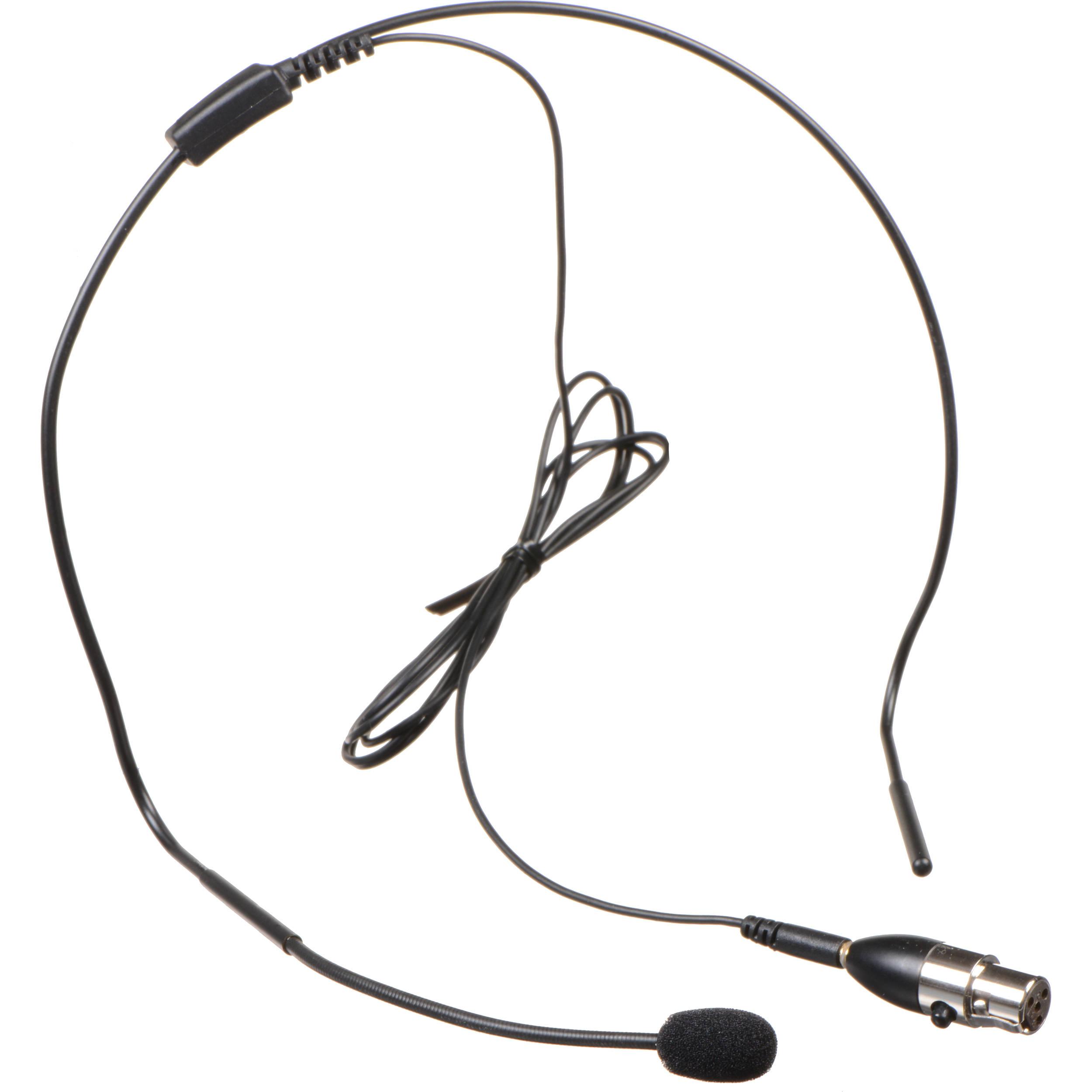 audix ht5 headworn microphone with 4 pin mini xlr ht5 4pin b h Accessories Wiring Diagram audix ht5 headworn microphone with 4 pin mini xlr connector black