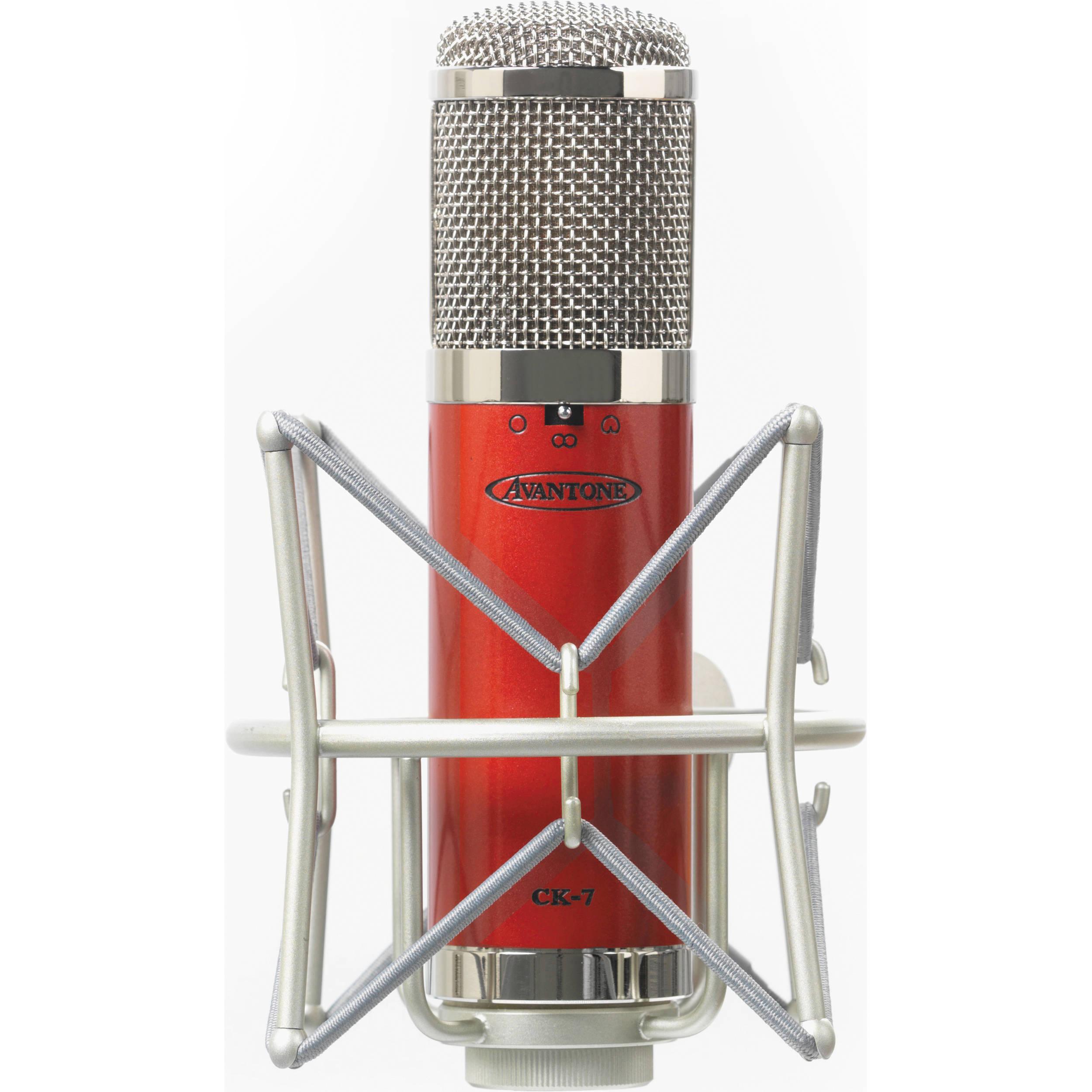 Avantone Pro Ck 7 Large Capsule Multi Pattern Fet Condenser Ck7 Overload Current Trip Microphone