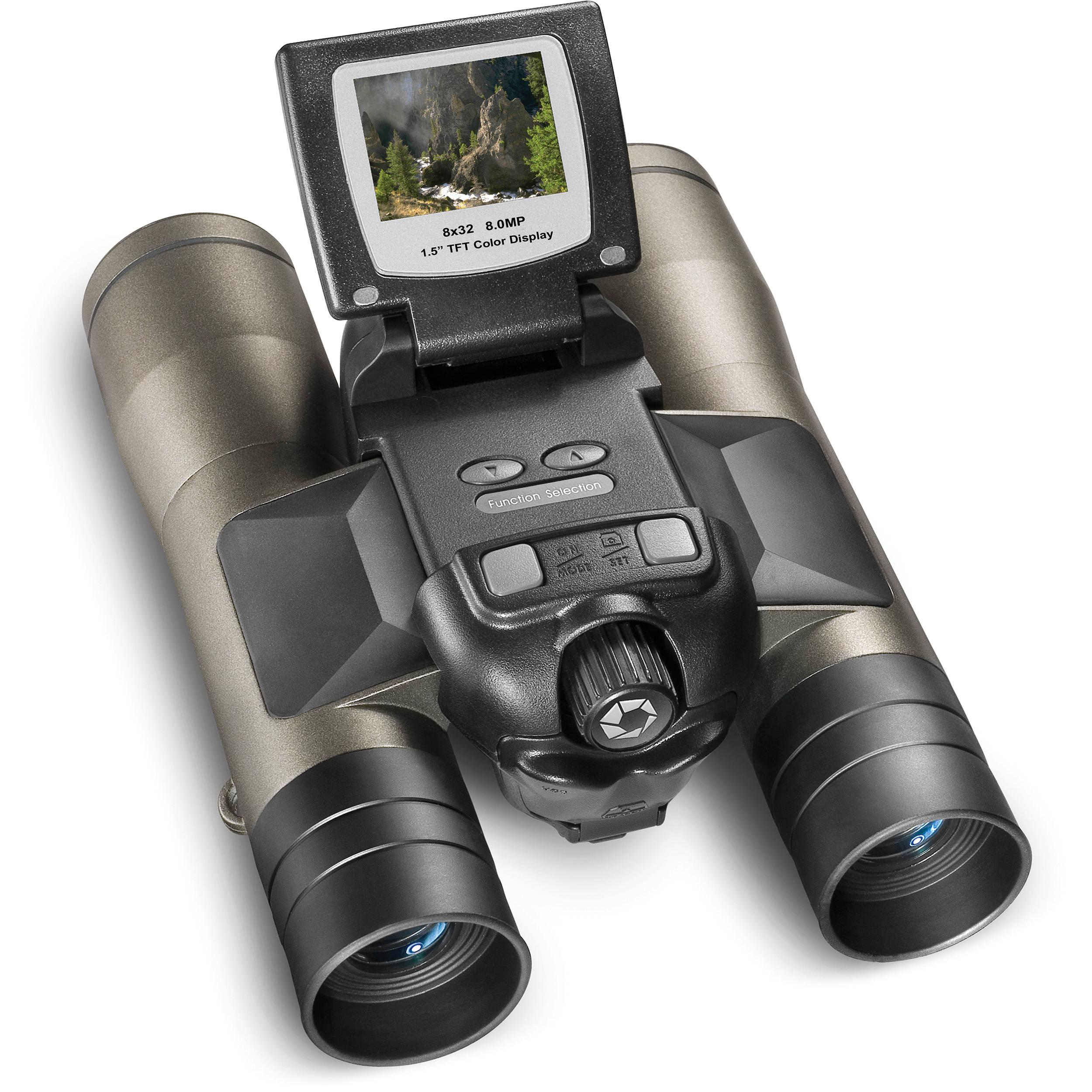 Kikare med inbyggd kamera har en häftig design
