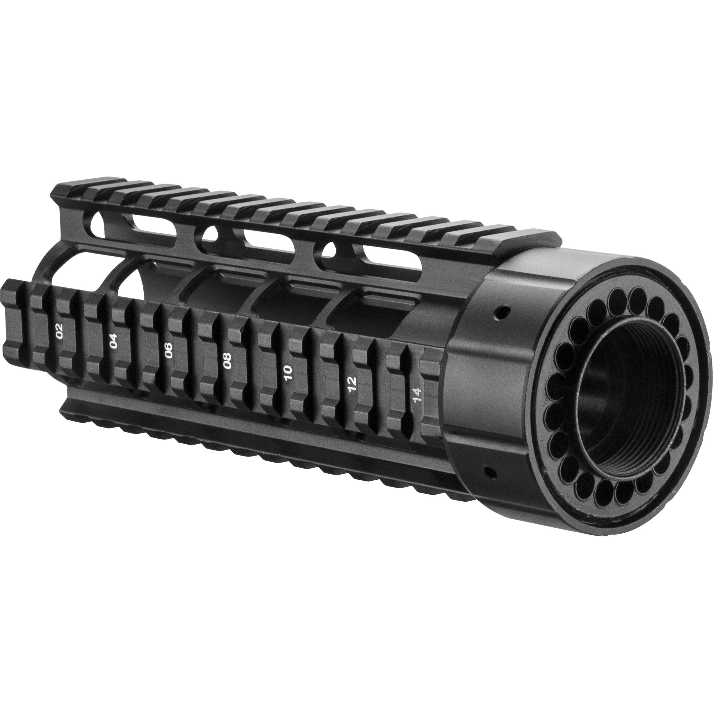 """Barska 6.75"""" AR Quad Rail (AR-15, M16, M4) AW11736 B&H"""
