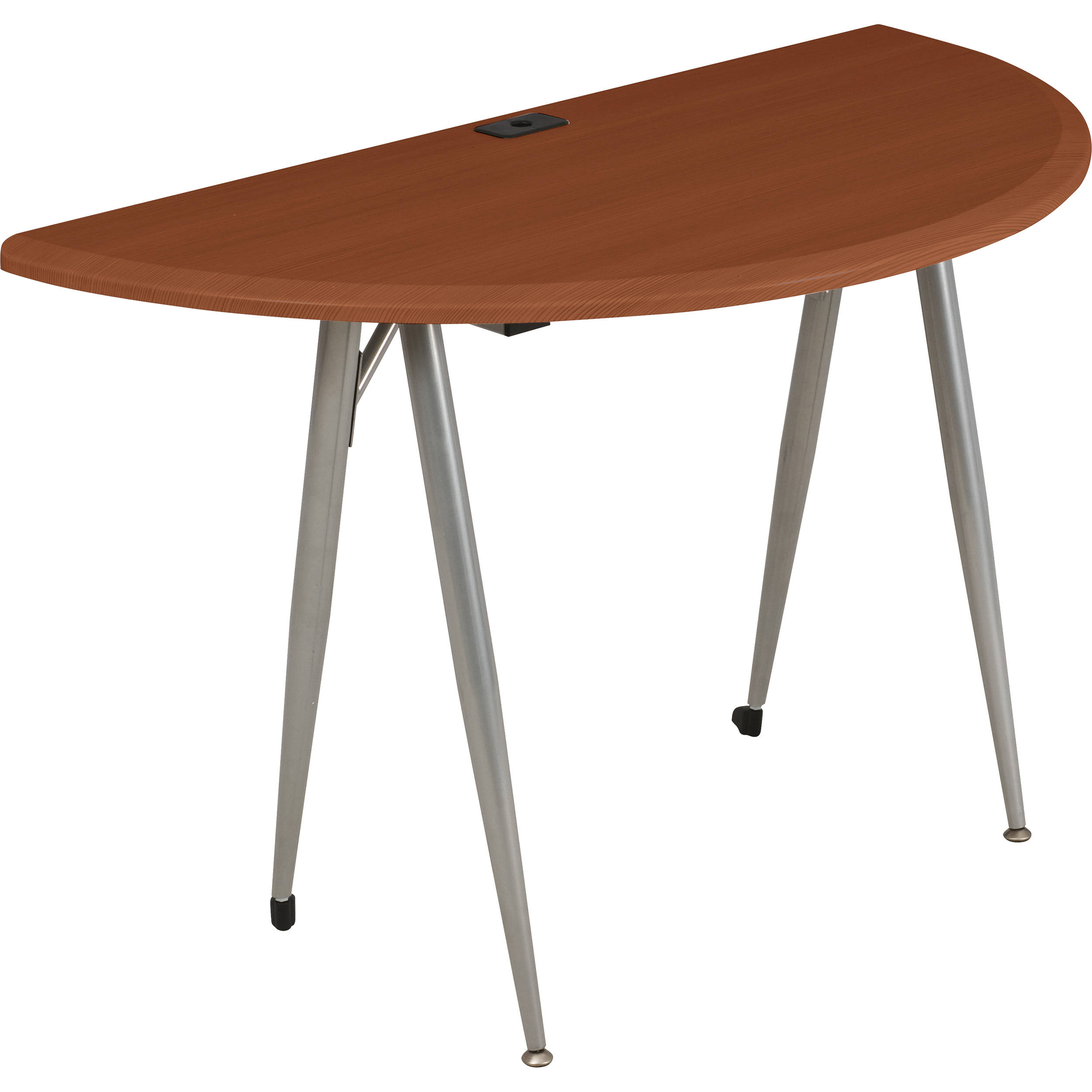 Balt iFlex Small Desk (Half Round, Cherry) 90003 B&H Photo Video