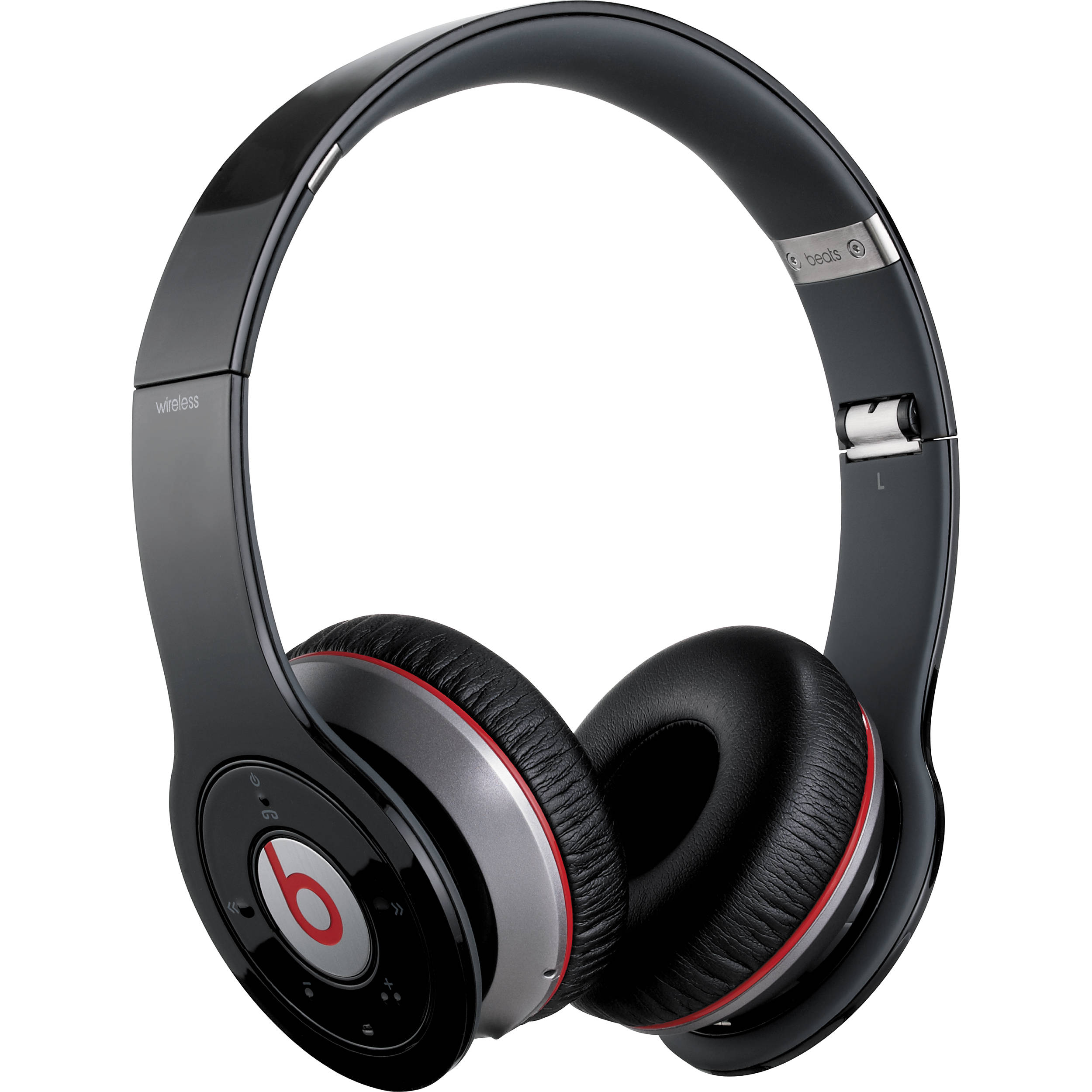 beats by dr dre wireless bluetooth on ear 900 00009 01 b h. Black Bedroom Furniture Sets. Home Design Ideas