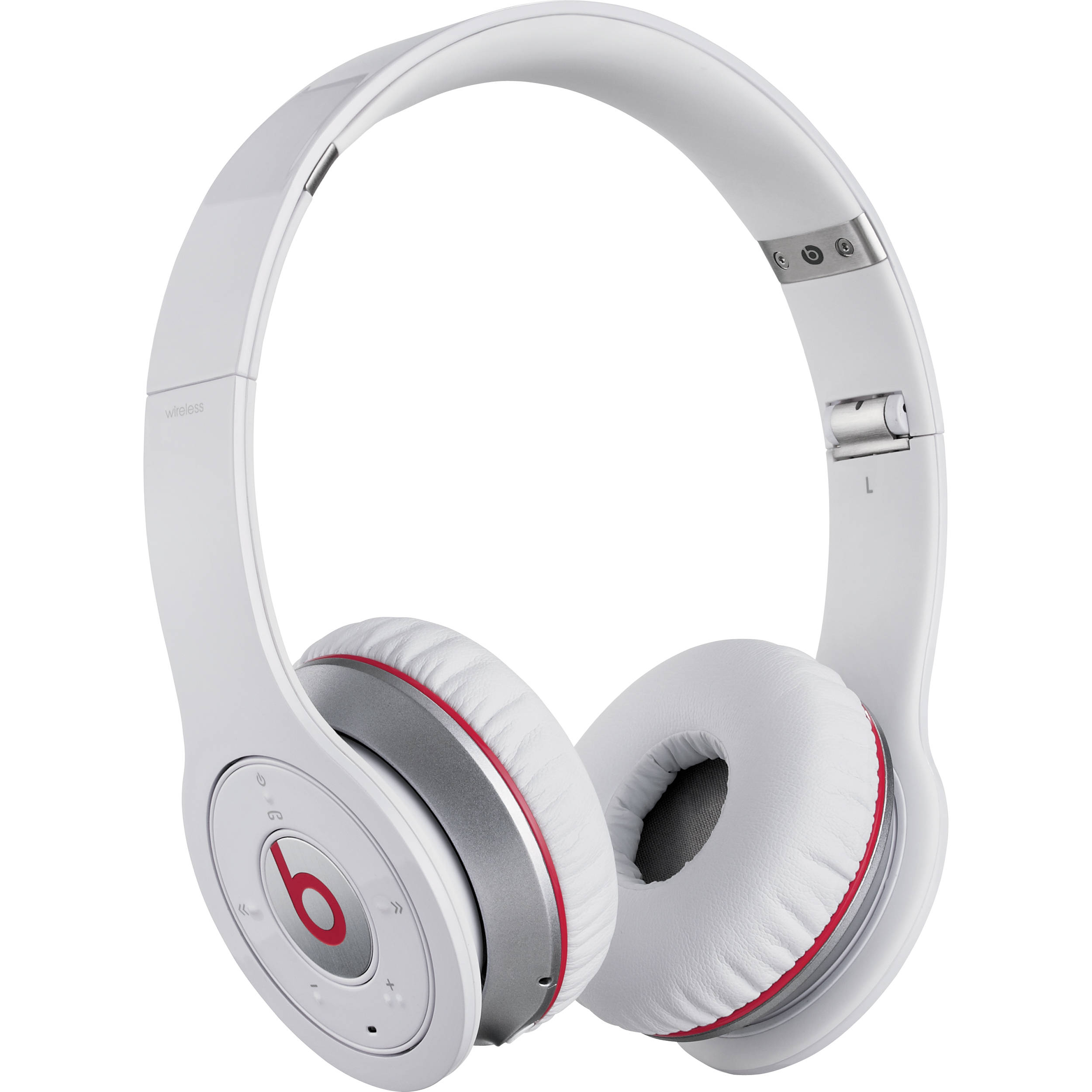 beats by dr dre wireless bluetooth on ear 900 00010 01 b h. Black Bedroom Furniture Sets. Home Design Ideas