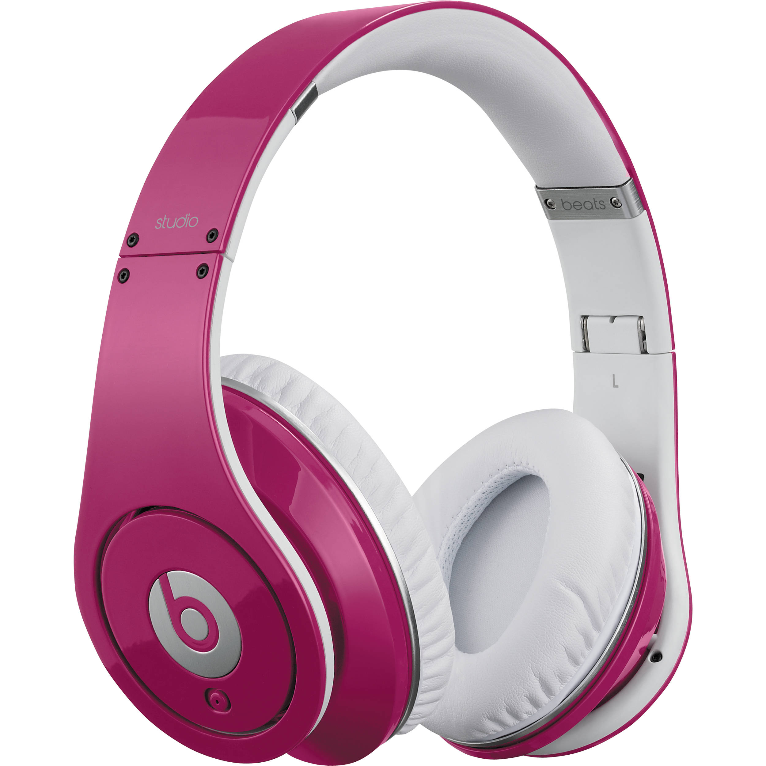 Beats By Dr Dre Beats Studio High Definition Isolation Headphones Pink