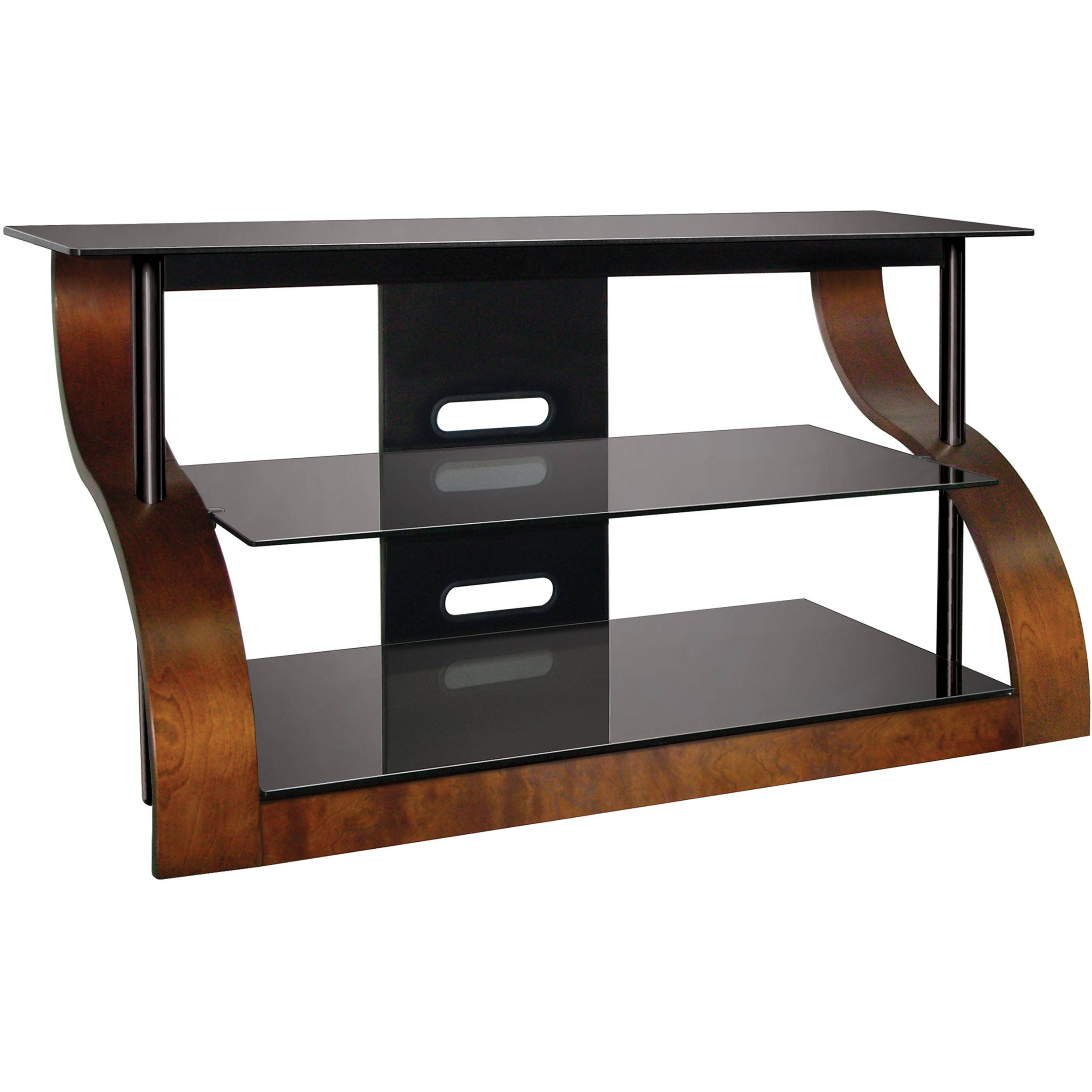 Bell O Cw343 Curved Wood A V Furniture In Vibrant Espresso Cw343