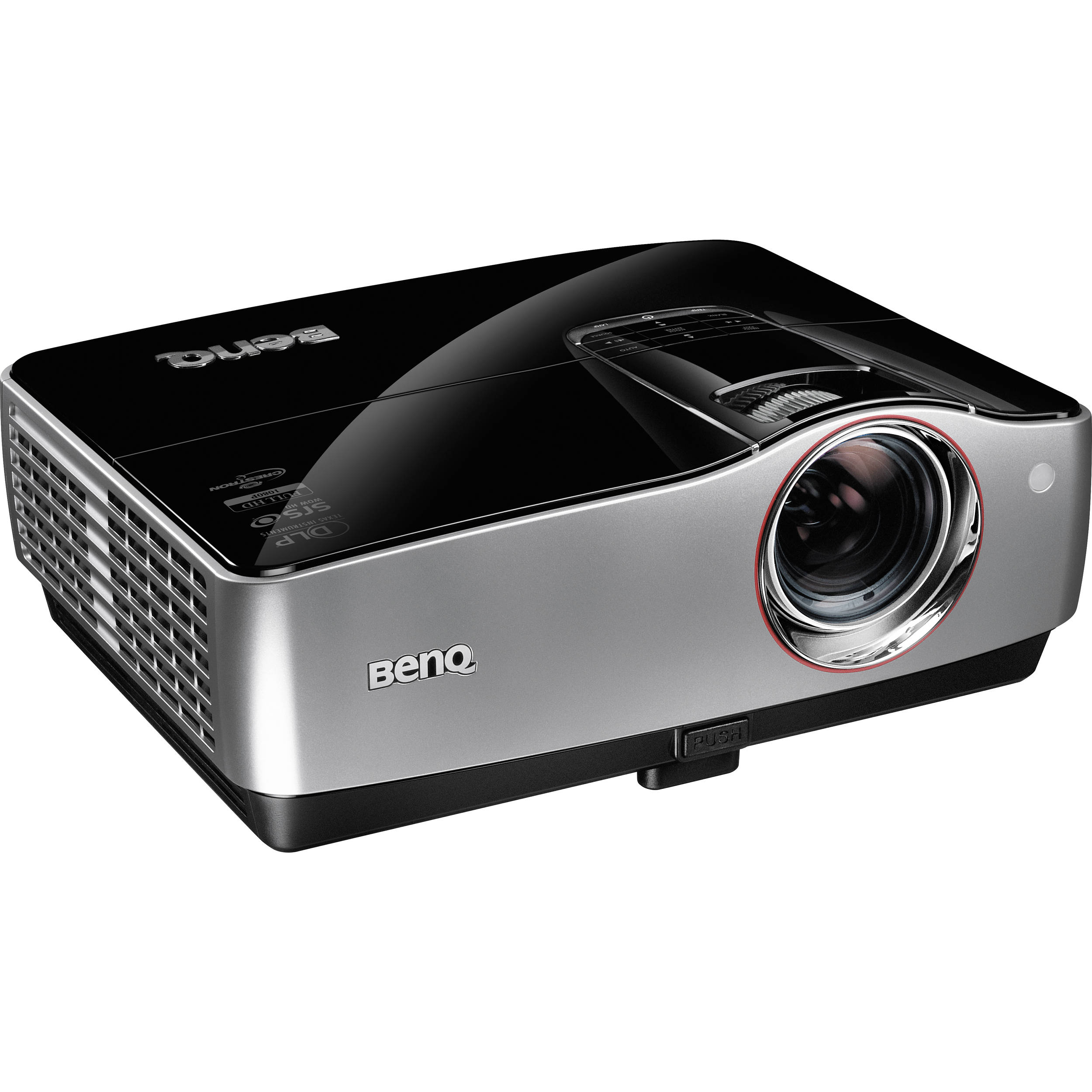 Benq sh910 dlp digital projector sh910 b h photo video for Hd video projector