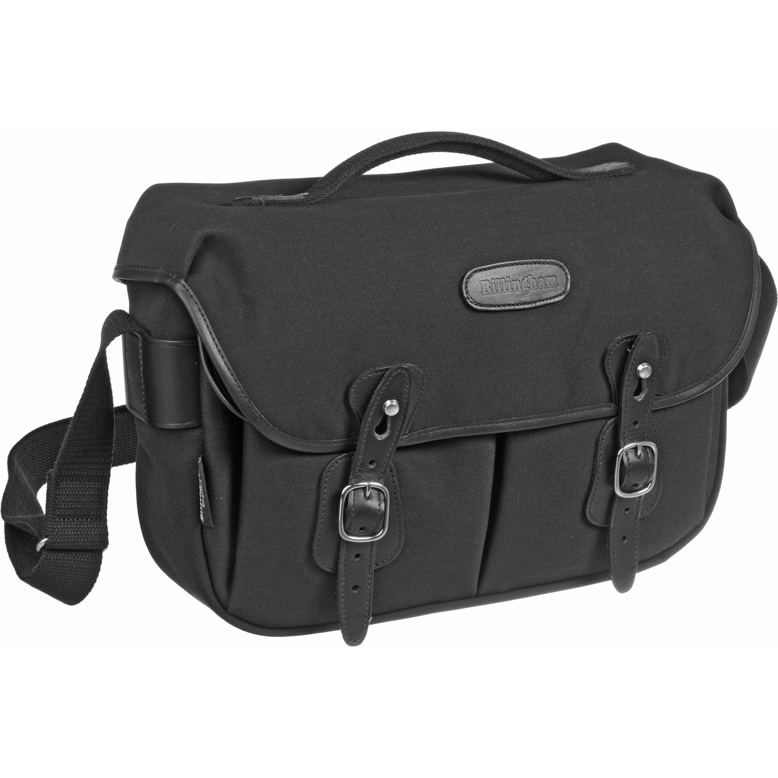 Billingham Hadley Pro Nbsp Shoulder Bag Black Canvas