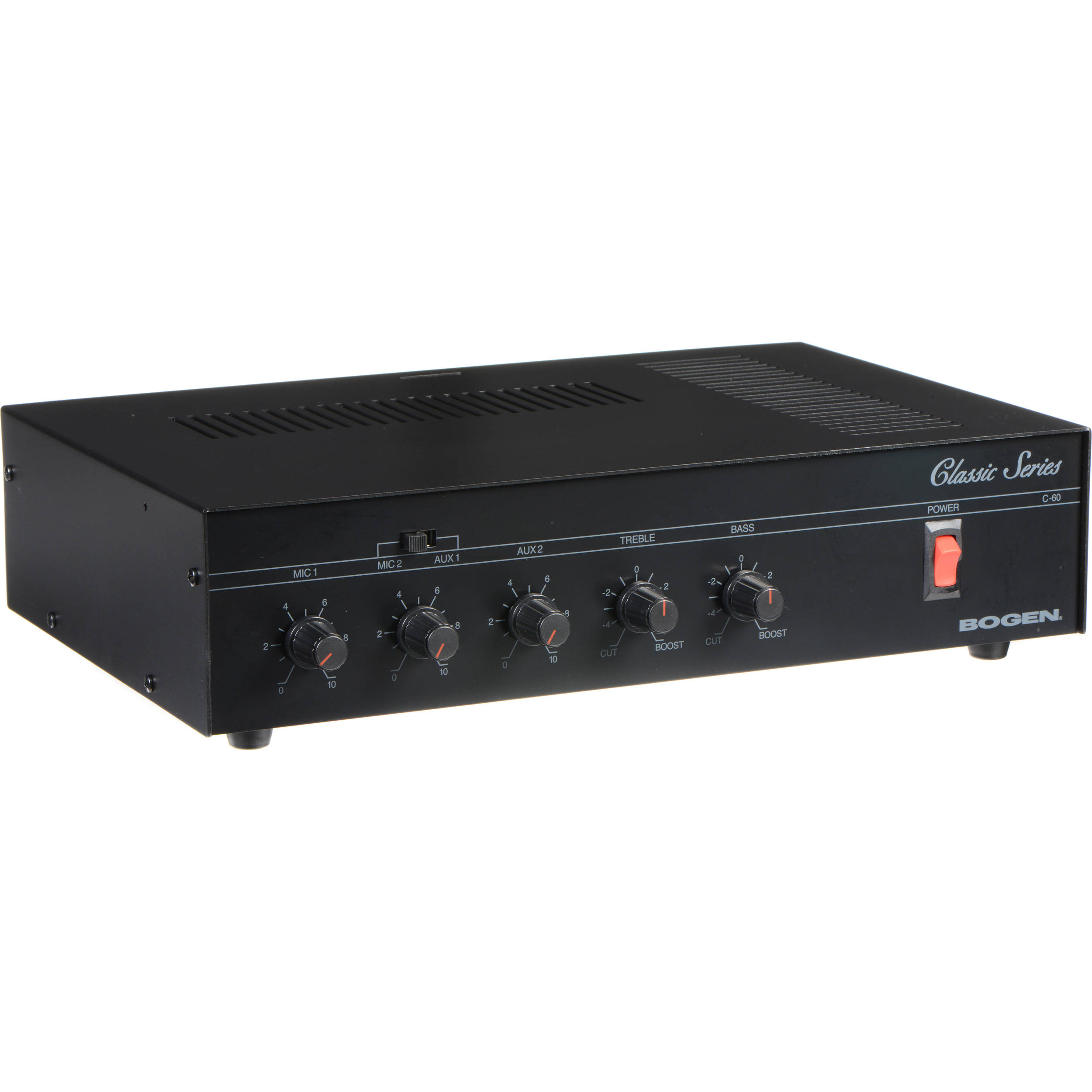 Bogen Communications C60 Classic Series Public Address Amplifier 60W