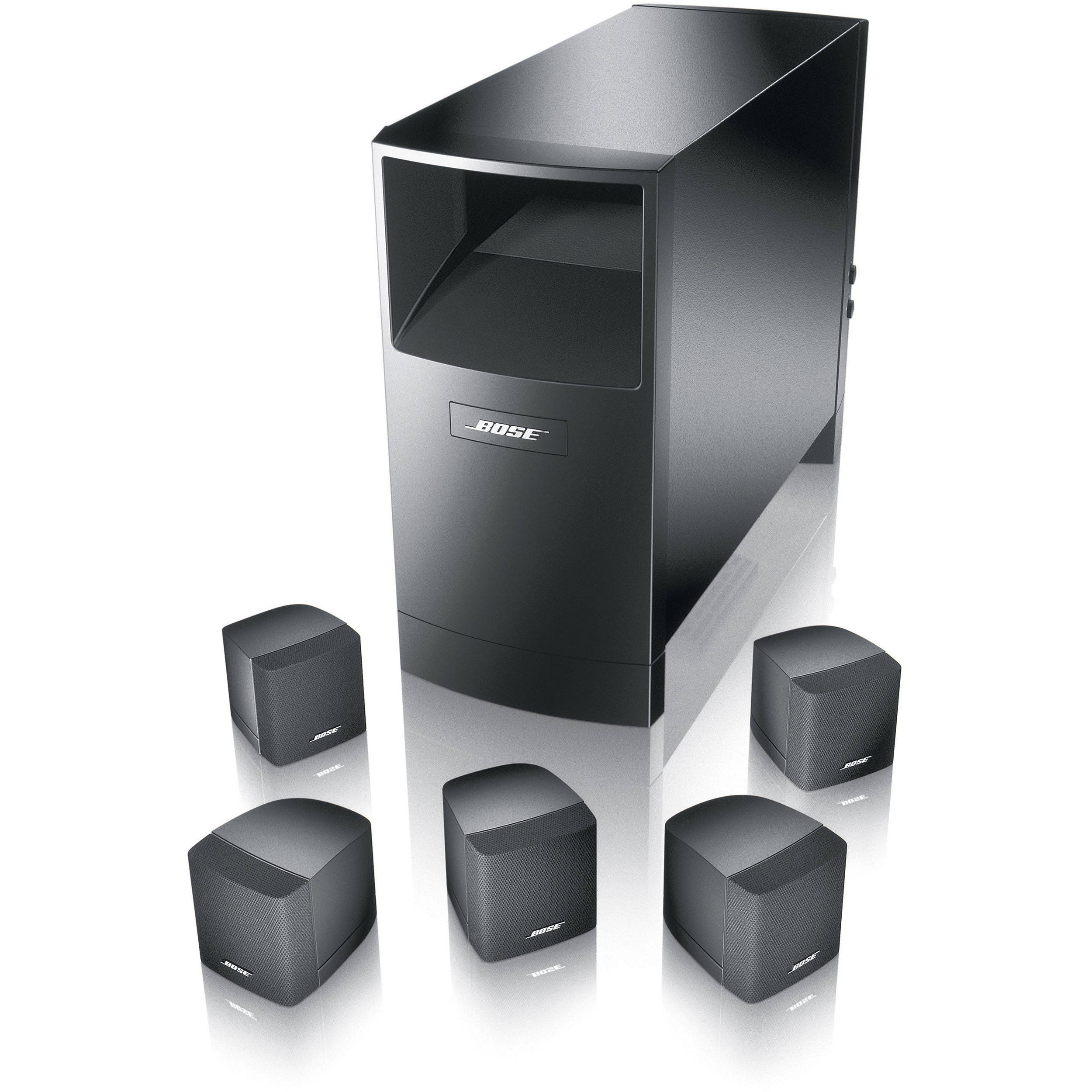 bose acoustimass 6 series iii home entertainment speaker 29275. Black Bedroom Furniture Sets. Home Design Ideas