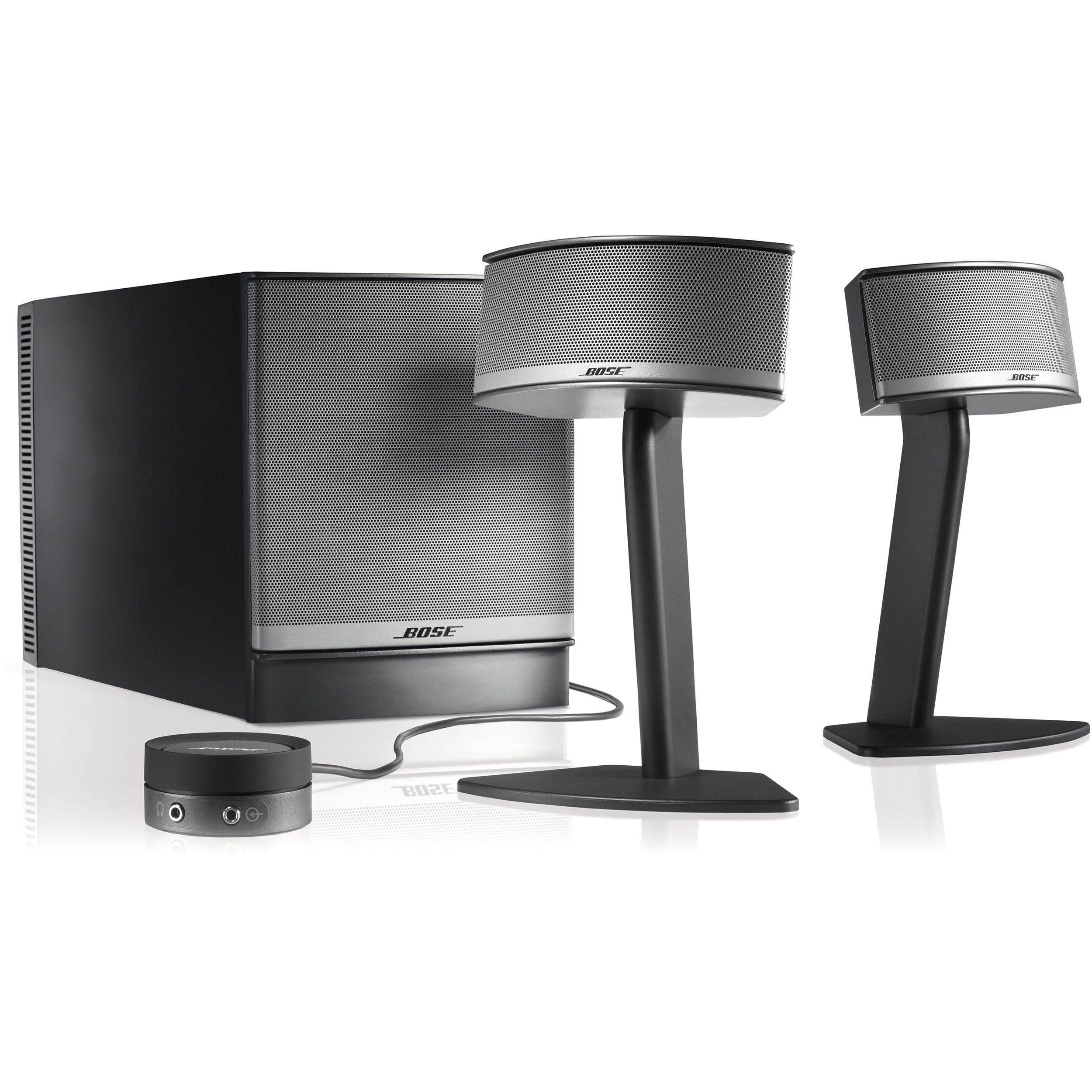 bose companion 5 multimedia speaker system 40326 b h photo video. Black Bedroom Furniture Sets. Home Design Ideas