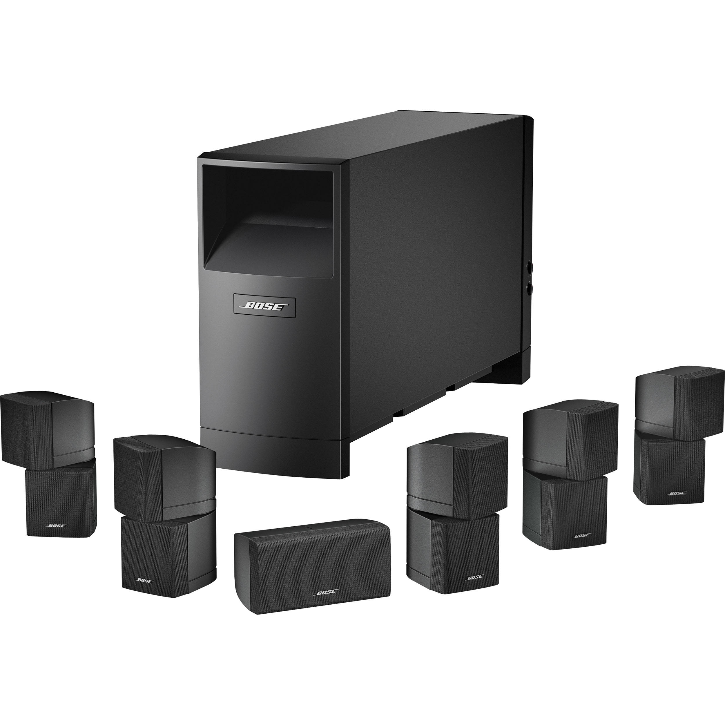 bose acoustimass 16 series ii home entertainment speaker 40366. Black Bedroom Furniture Sets. Home Design Ideas
