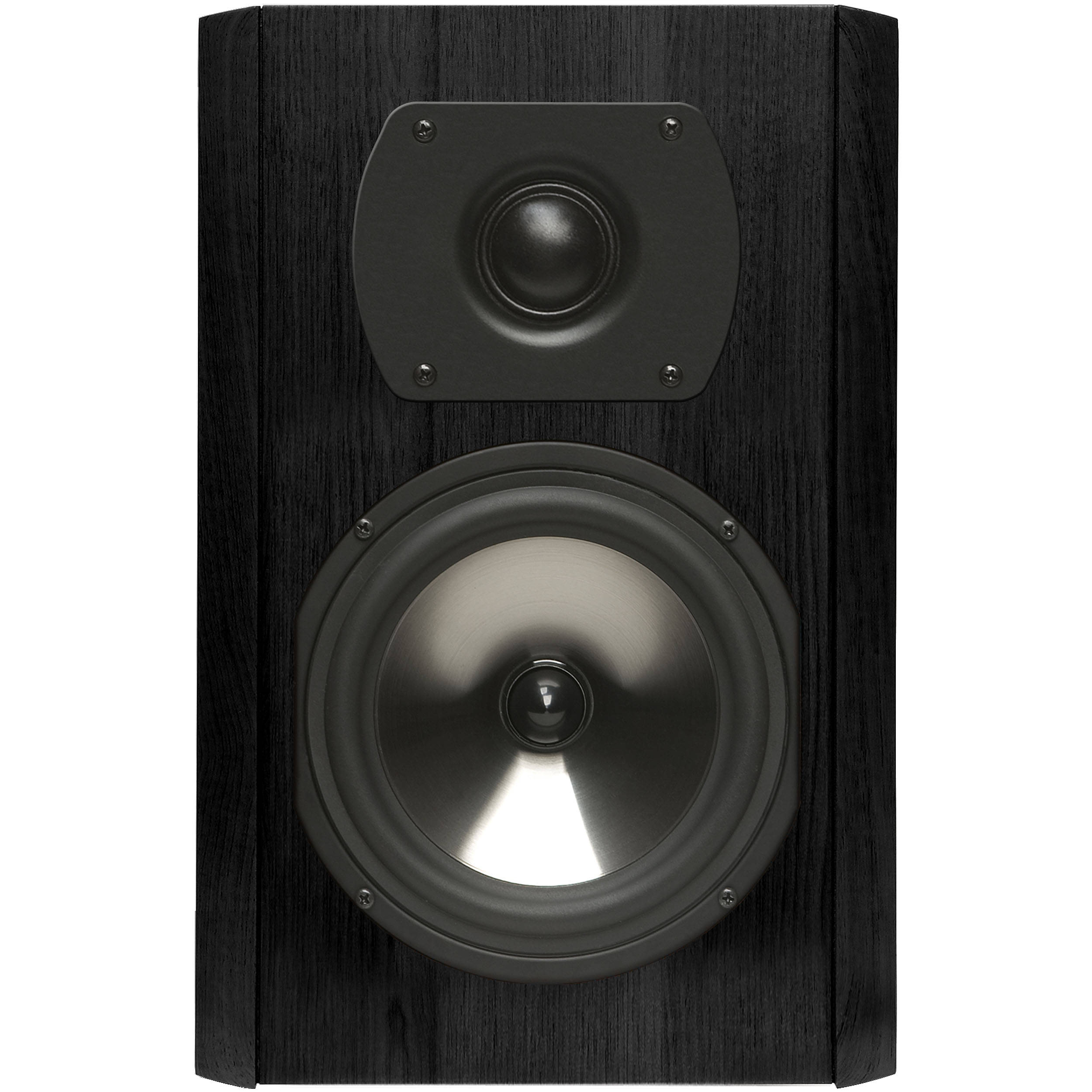Boston Acoustics CS 23 35 2 Way Bookshelf Speaker Black Walnut