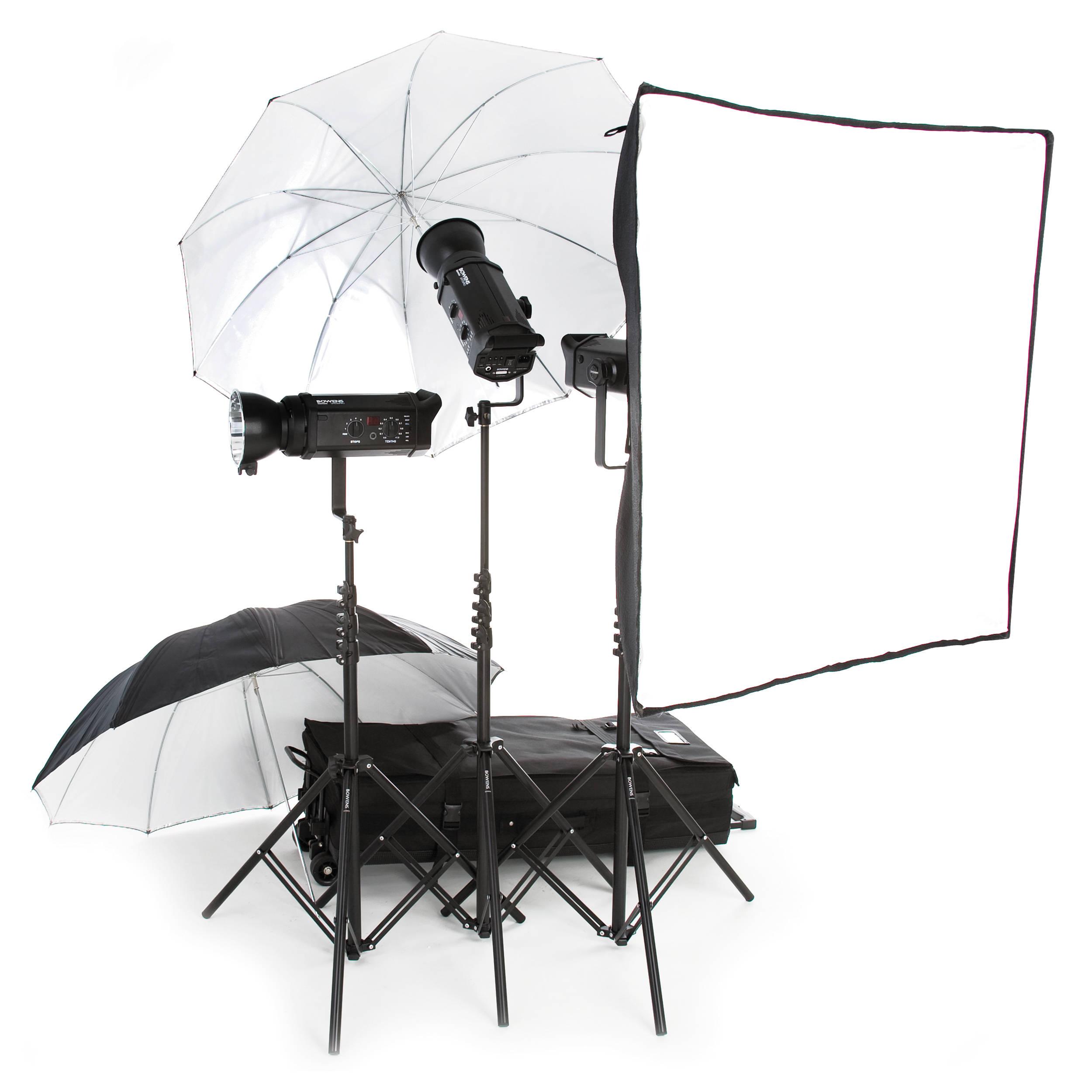 Bowens Esprit 500 Studio Lighting Kit: Bowens Gemini 500 Pro 3-Light Kit BW-4870US B&H Photo Video