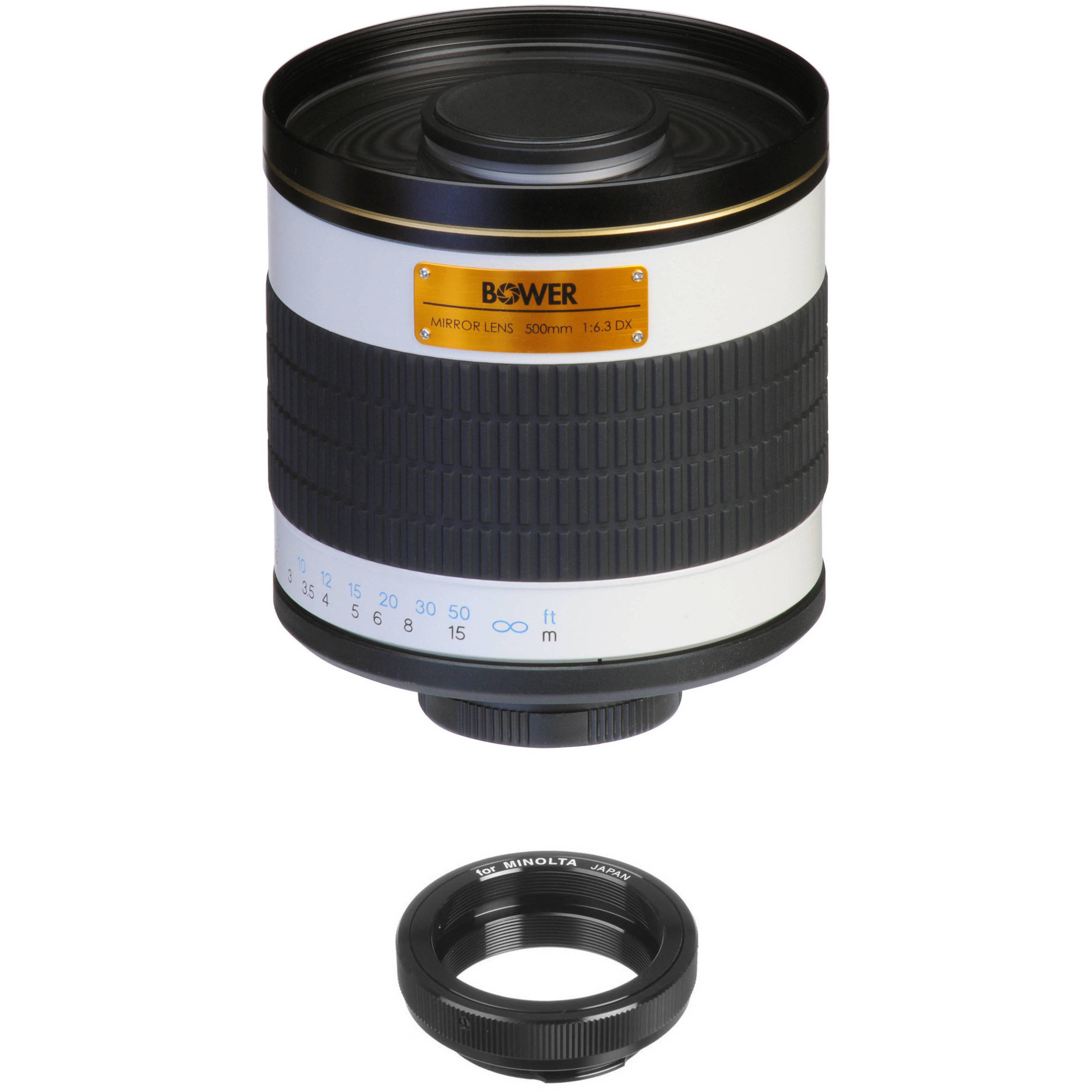 Bower 500mm F 6 3 Manual Focus Telephoto Lens For Minolta