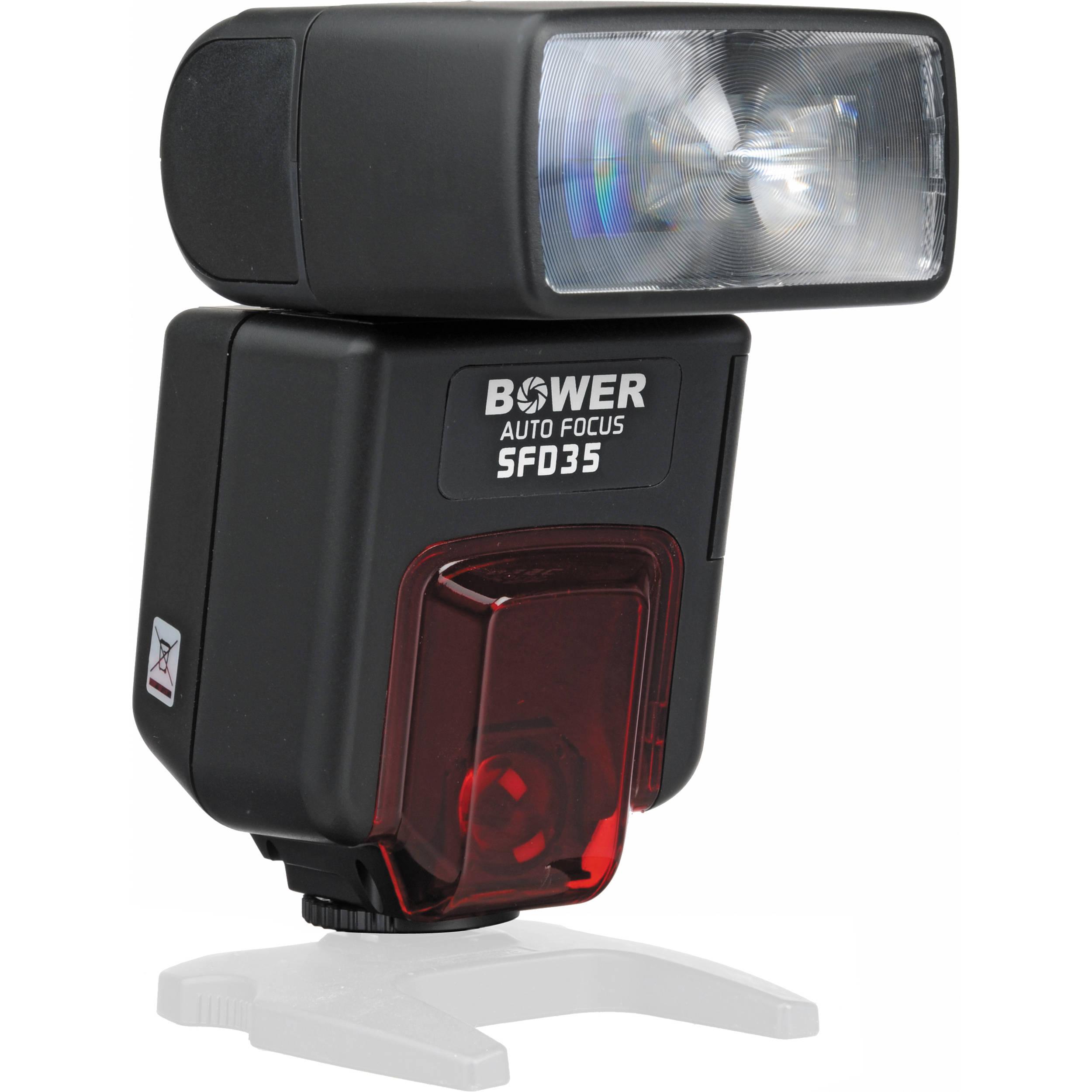 bower sfd35 digital flash for nikon cameras sfd35n b h photo rh bhphotovideo com Understanding Flash TTL Nikon TTL Flash Metering System