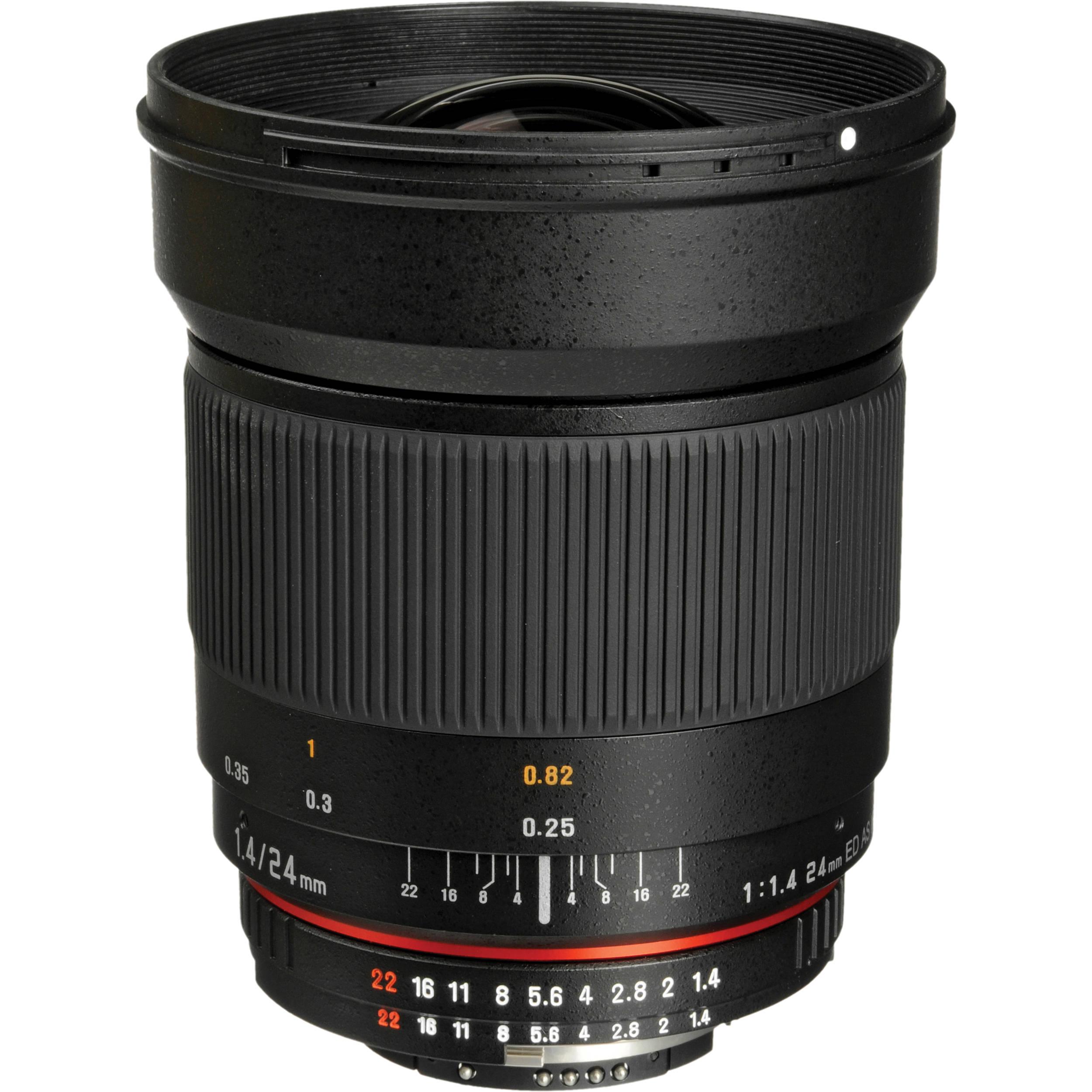 bower 24mm f  1 4 wide angle lens for nikon f mount sly2414n b h best nikon manual focus zoom lenses best nikon manual focus lens