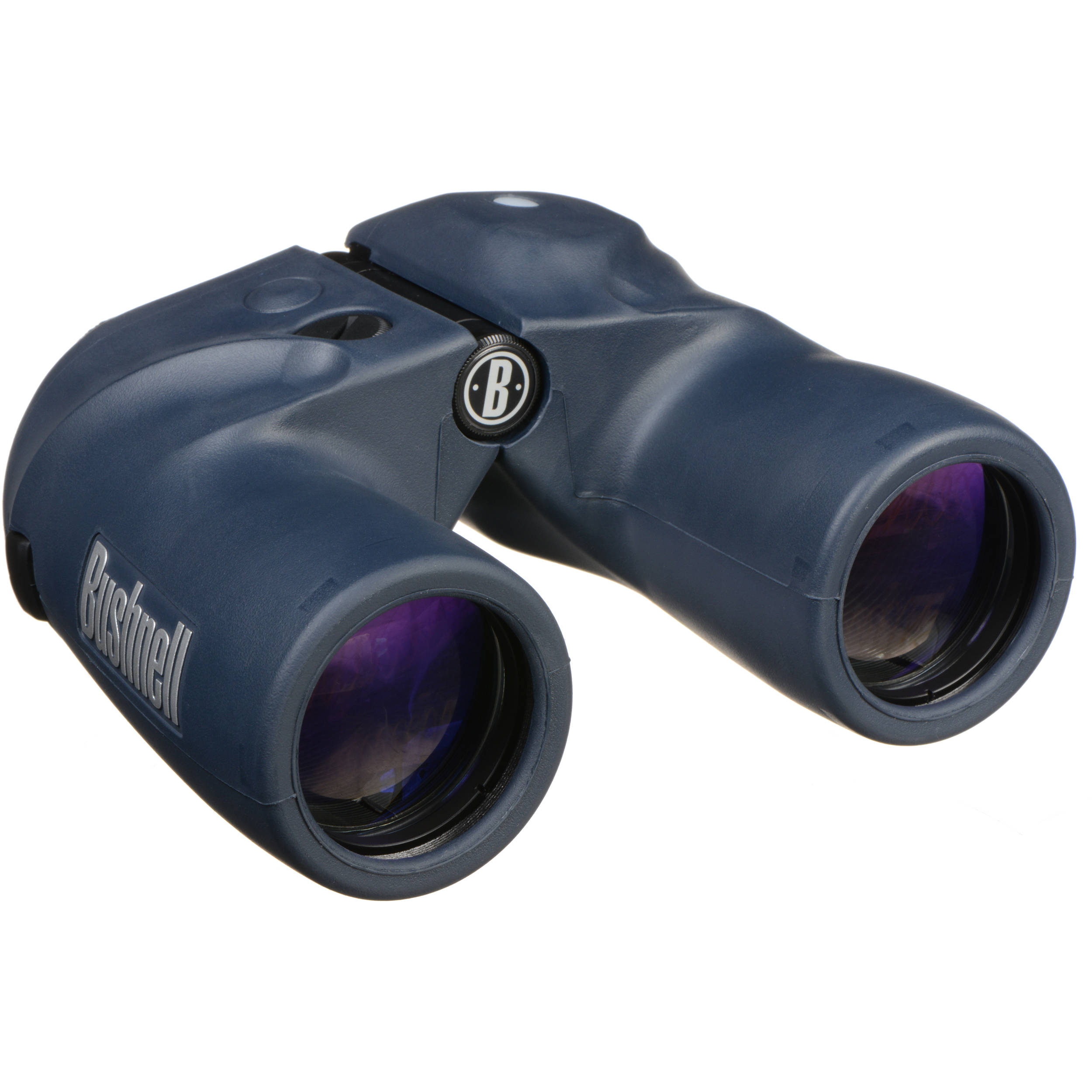 Bushnell 7x50 Marine Binocular with Compass (Blue)