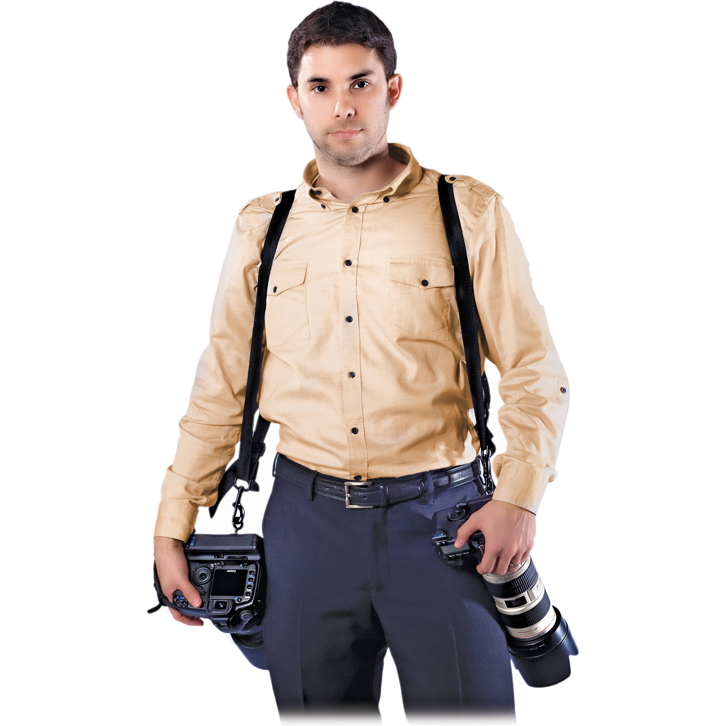 CameraSlingers_CSDS_CSFS_Freedom_Double_Camera_Strap_681761 cameraslingers freedom double camera strap (black) csds csfs b&h dual camera harness at webbmarketing.co