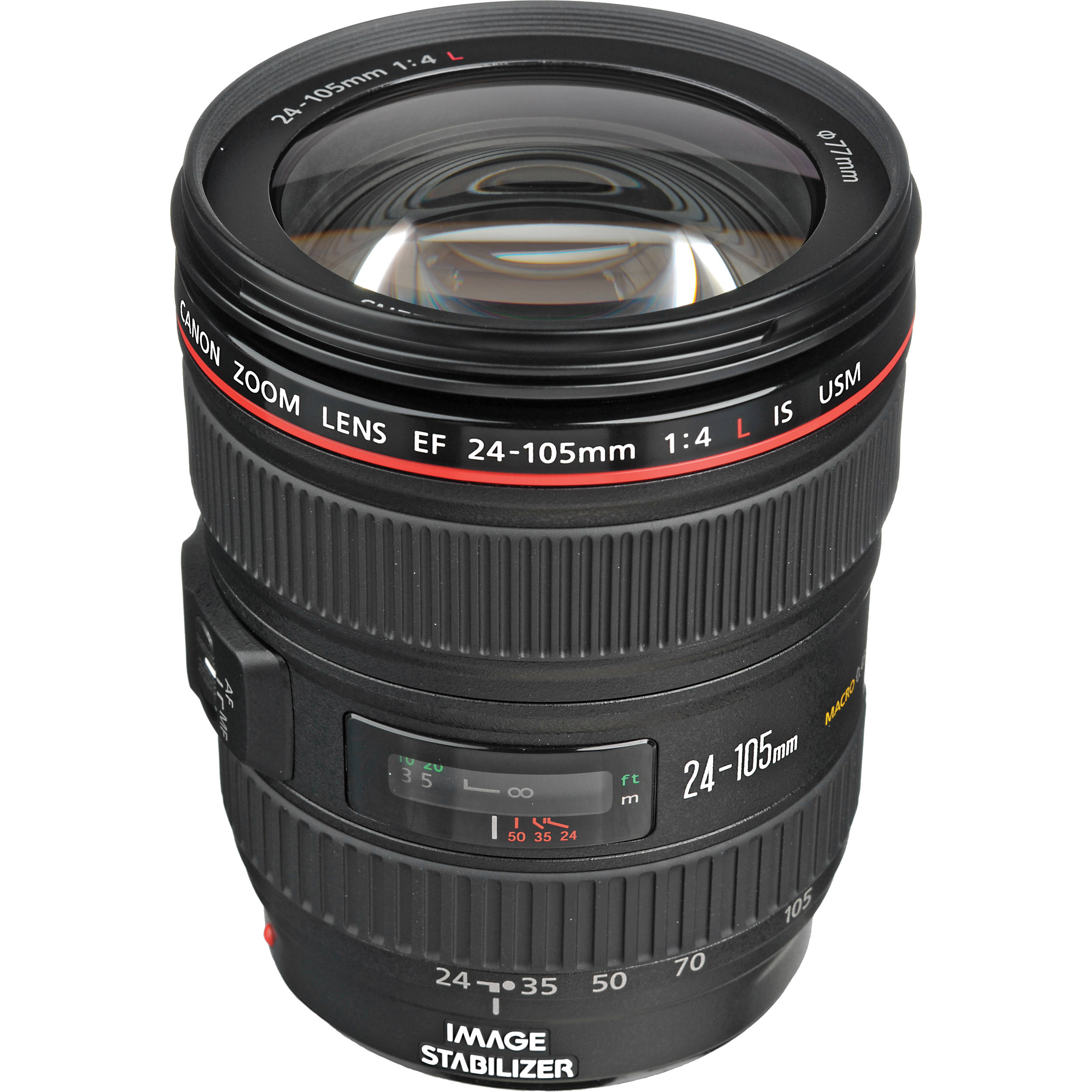 e4f73ea2eb Canon EF 24-105mm f/4L IS USM Lens 0344B002 B&H Photo Video