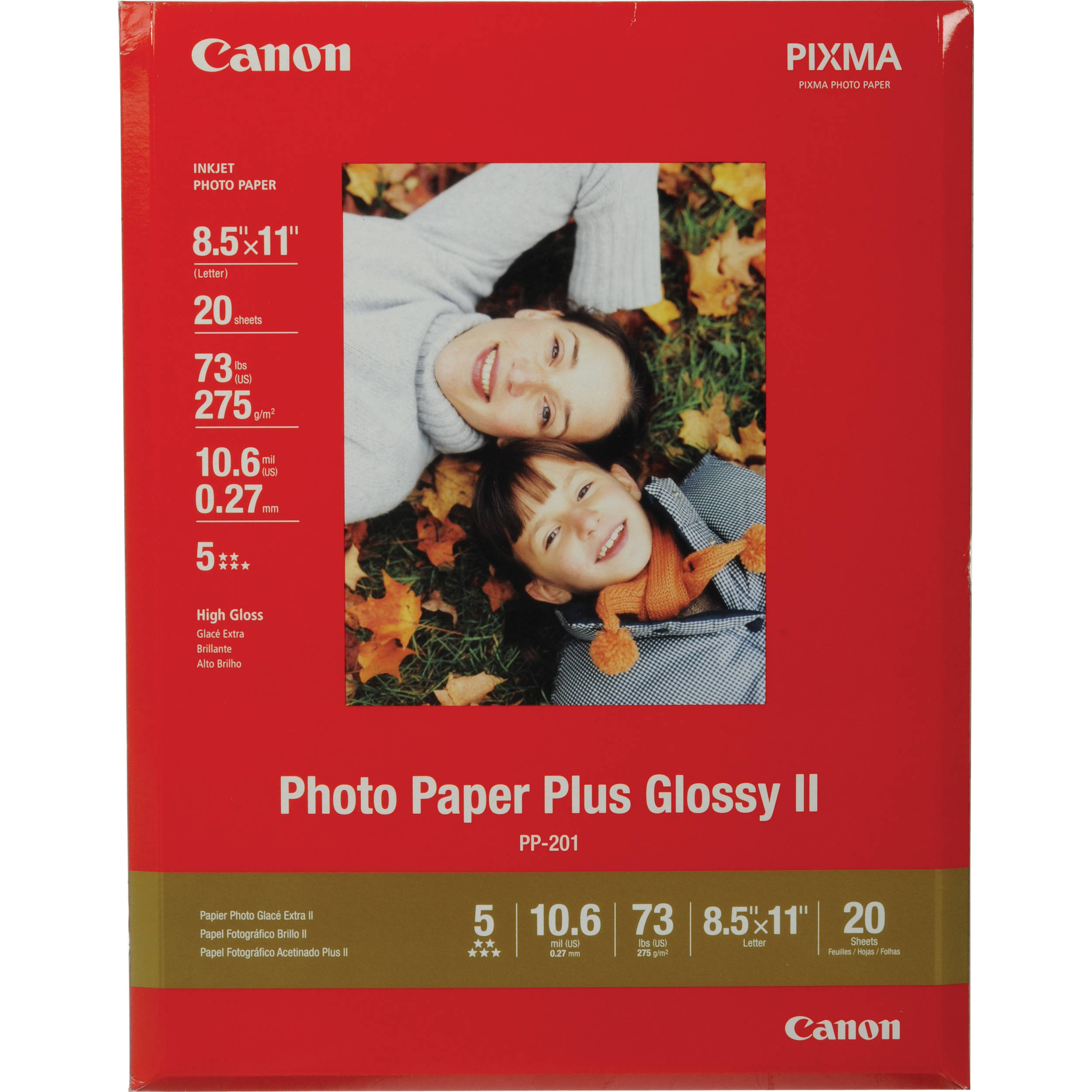 Canon photo plus paper ii glossy