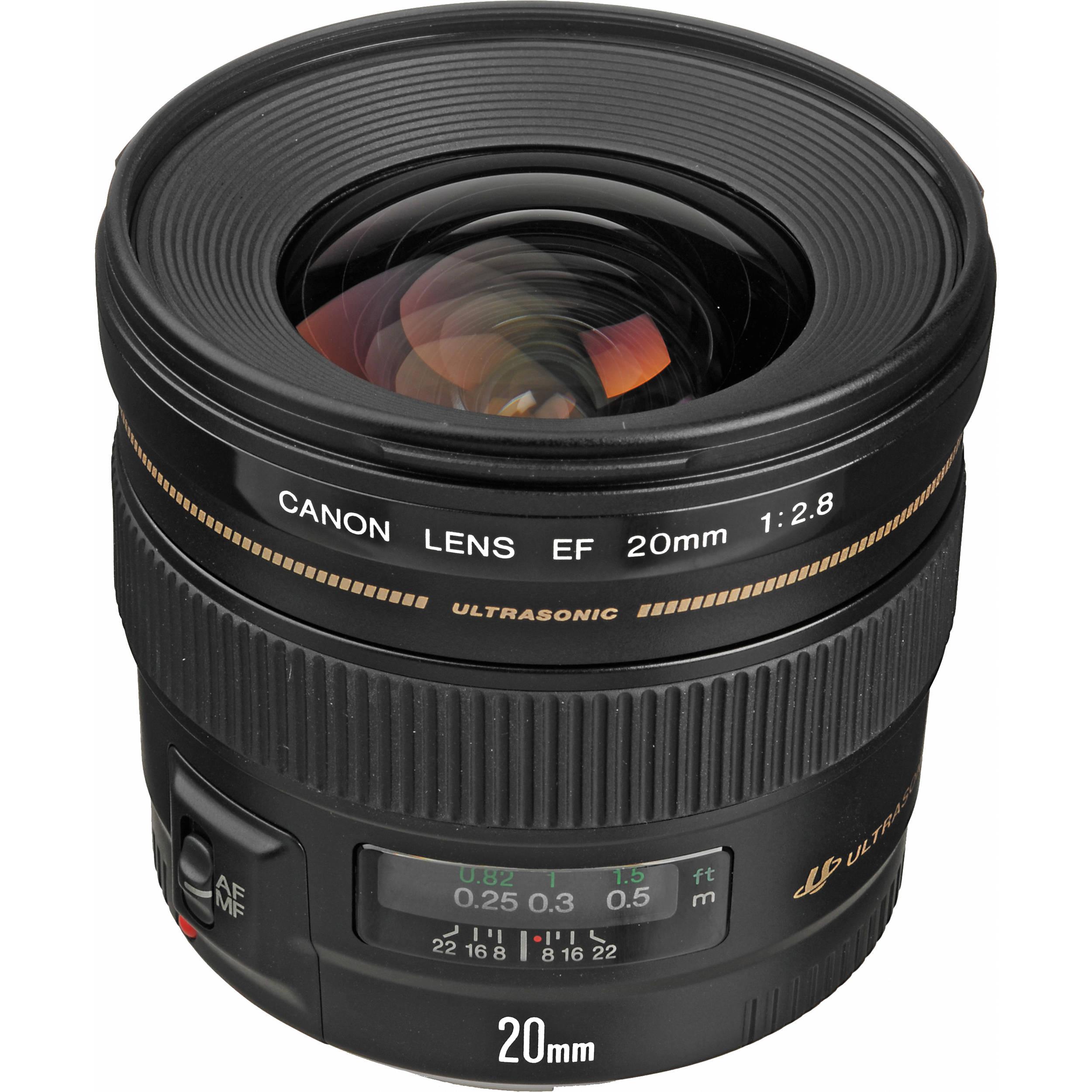 canon ef 20mm f 2 8 usm lens 2509a003 b h photo video. Black Bedroom Furniture Sets. Home Design Ideas
