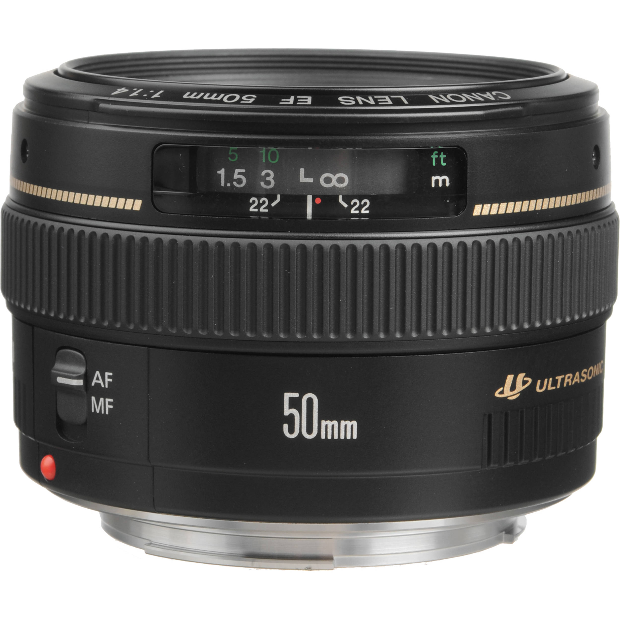 canon ef 50mm f 1 4 usm lens 2515a003 b h photo video