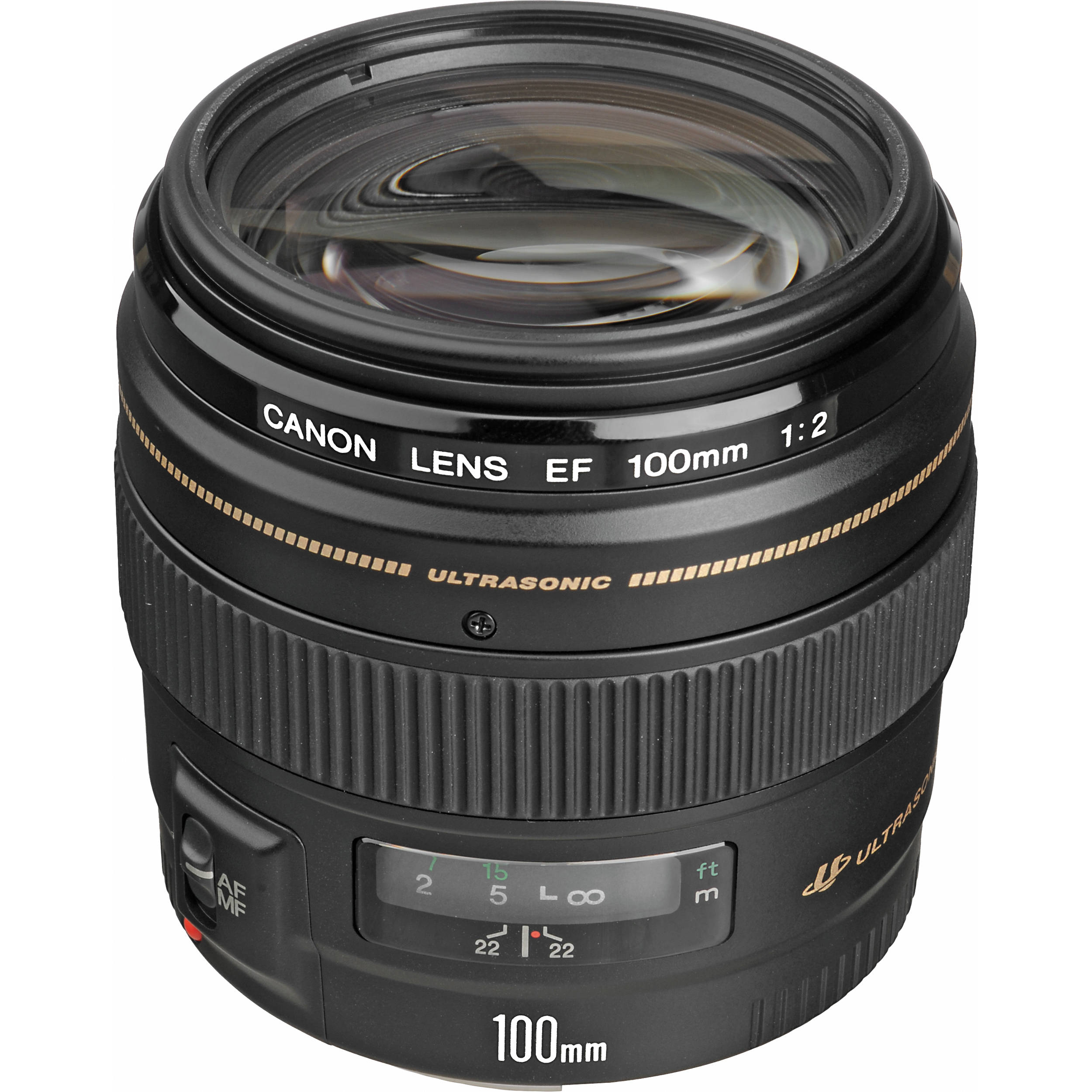 canon ef 100mm f 2 usm lens 2518a003 b h photo video