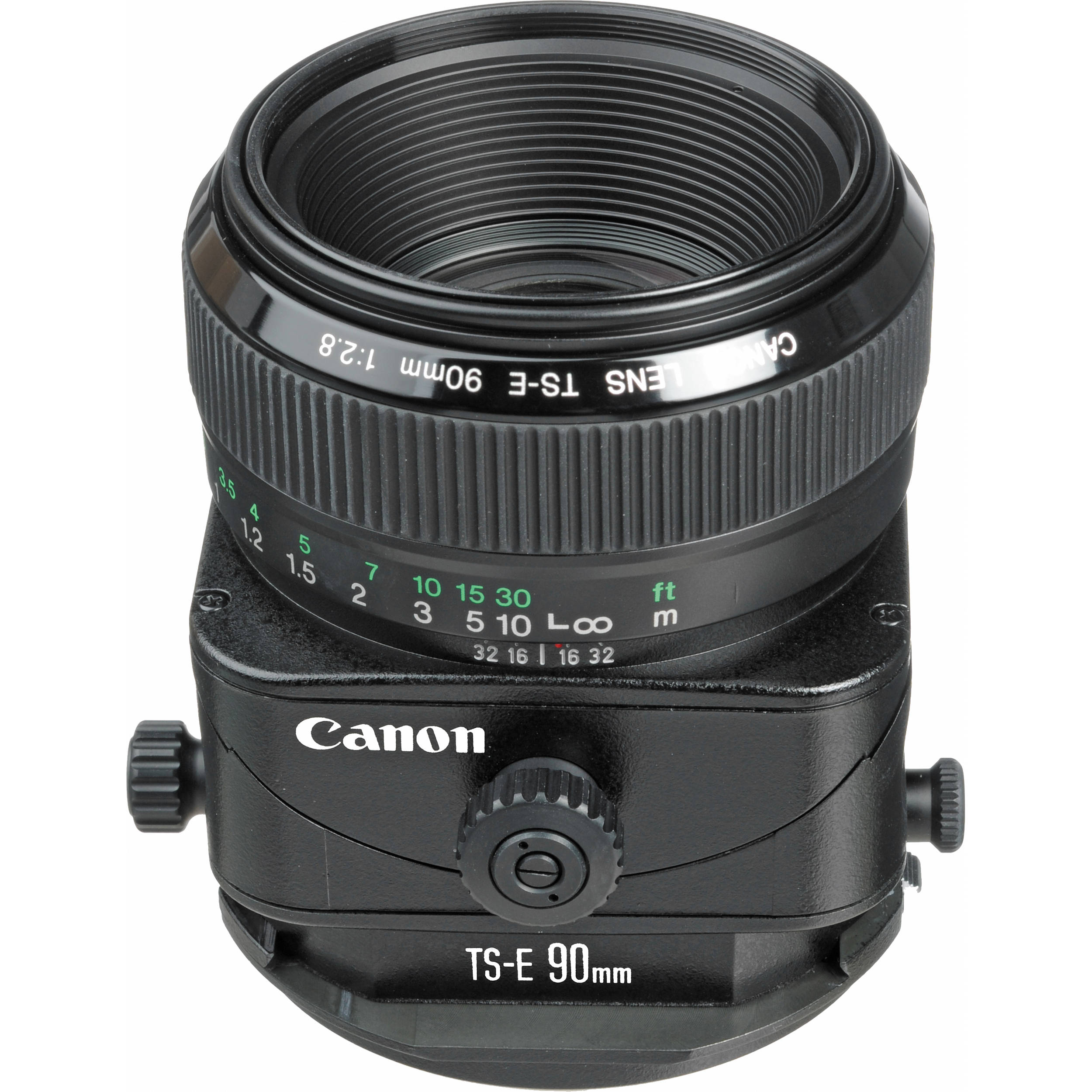 Canon TS-E 90mm f/2.8 Tilt-Shift Lens 2544A003 B&H Photo Video