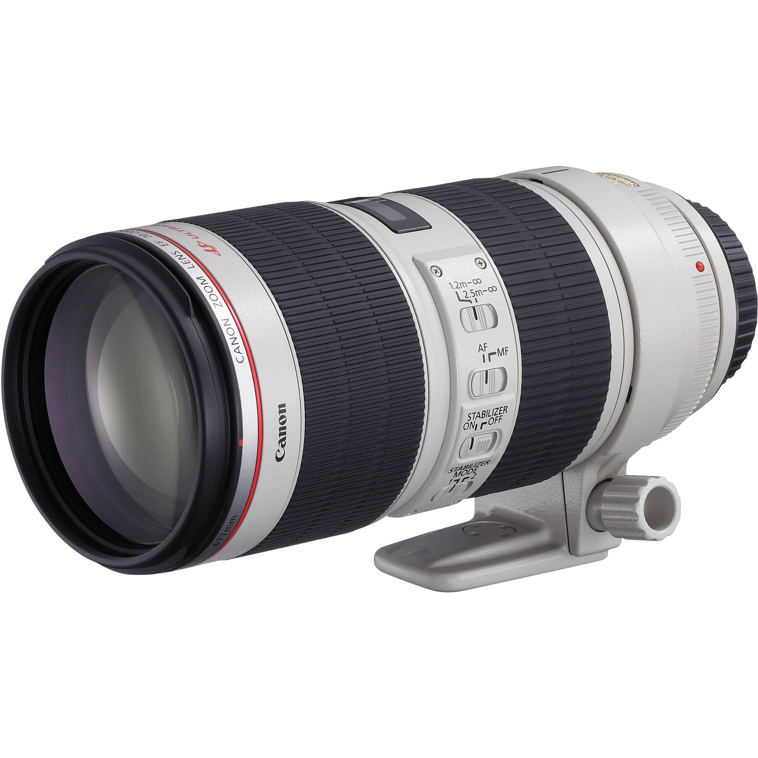 canon ef 70 200mm f 2 8l is ii usm telephoto zoom lens 2751b002. Black Bedroom Furniture Sets. Home Design Ideas