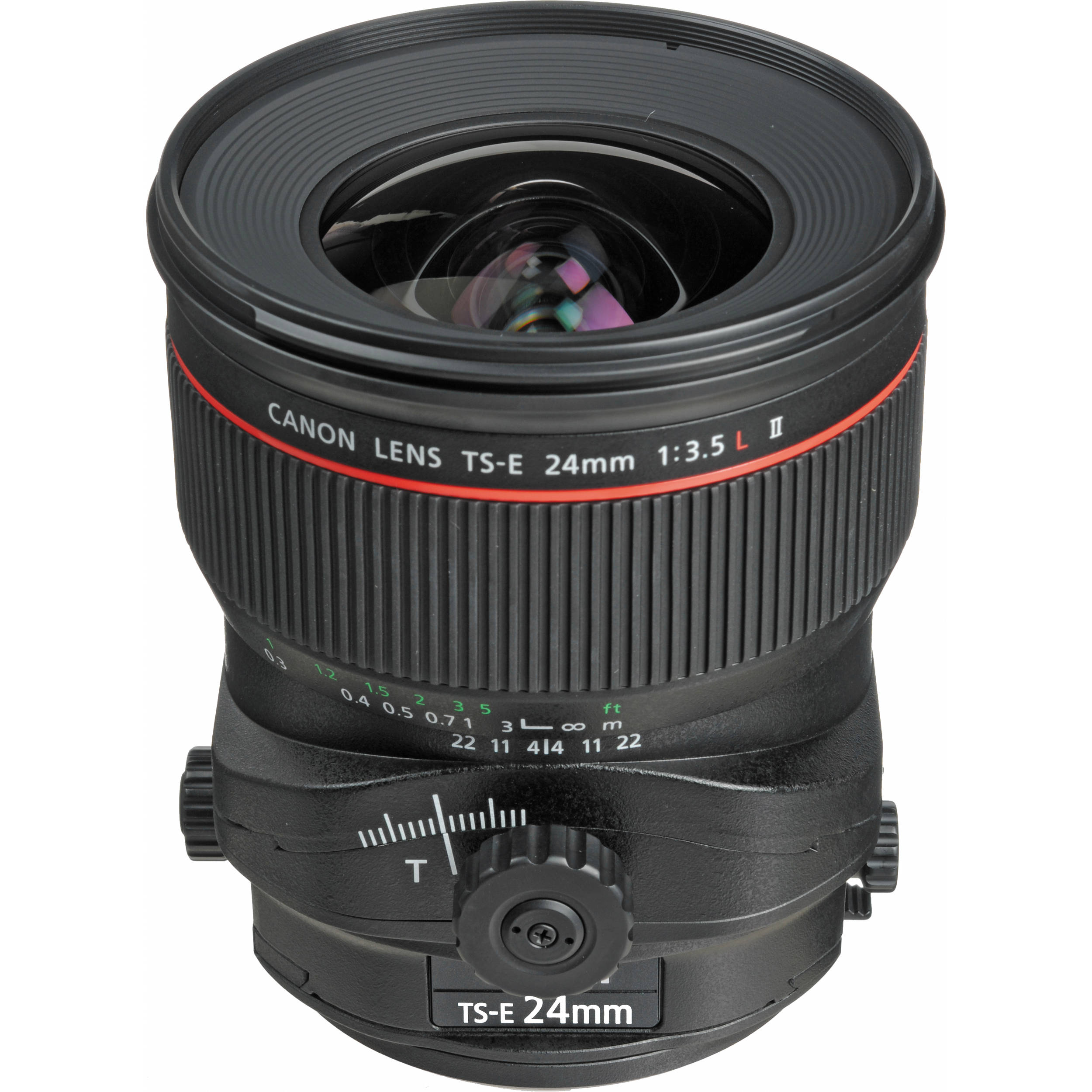 Canon Ts E 24mm F 3 5l Ii Tilt Shift Lens 3552b002 B Amp H Photo
