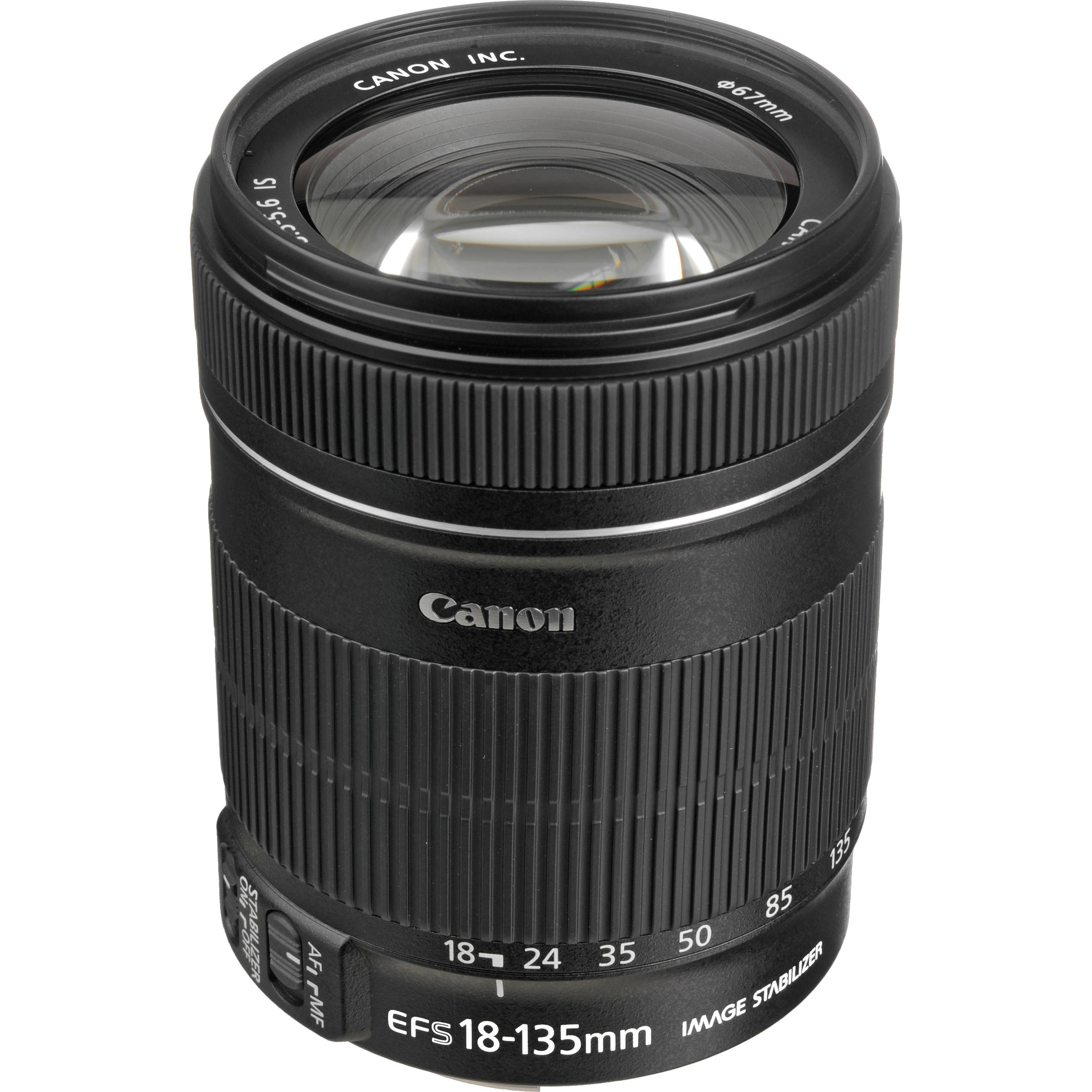 Canon Ef S 18 135mm F35 56 Is Lens 3558b002 Bh Photo Video