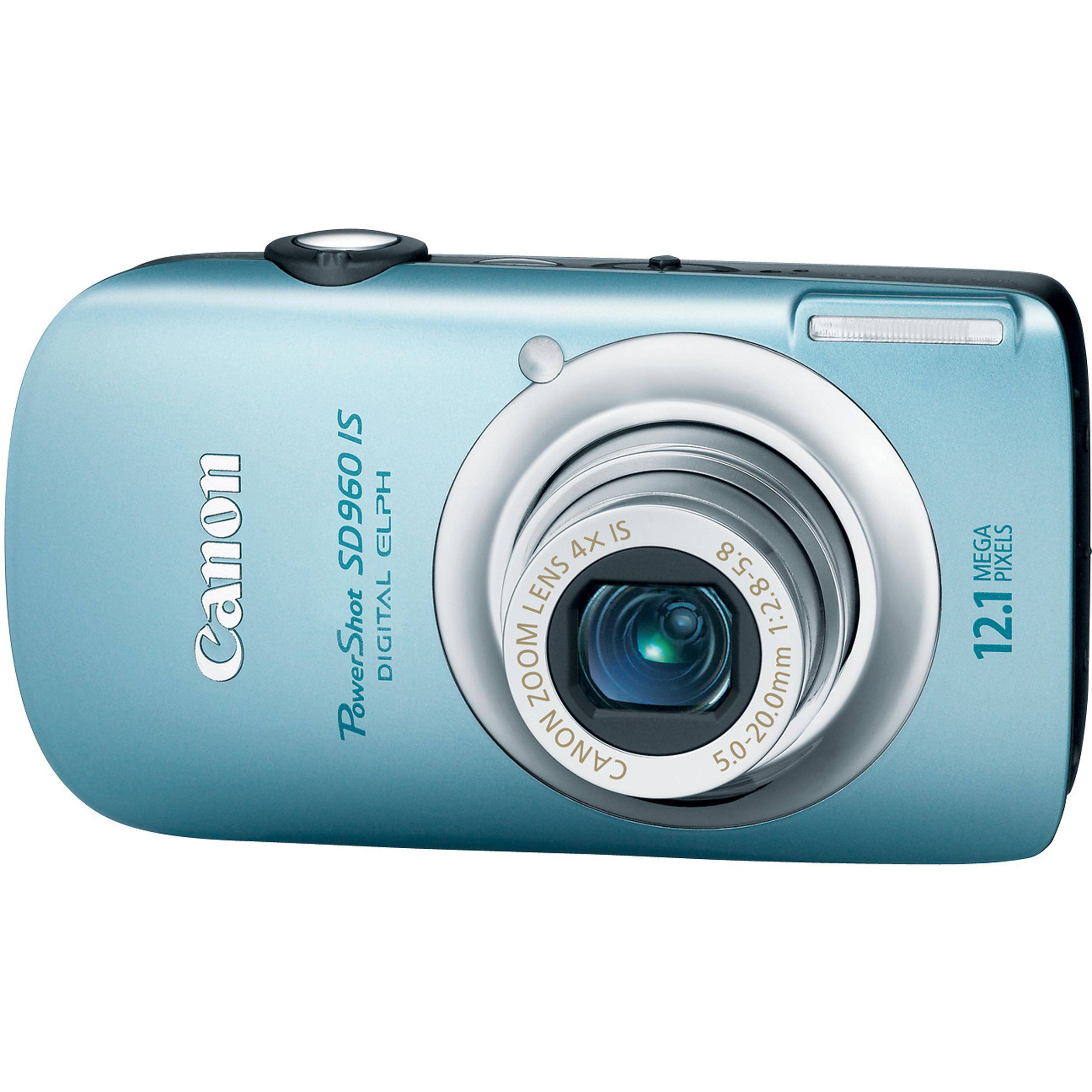 Canon PowerShot SD960 IS Digital Camera (Blue) 3578B001 B&H