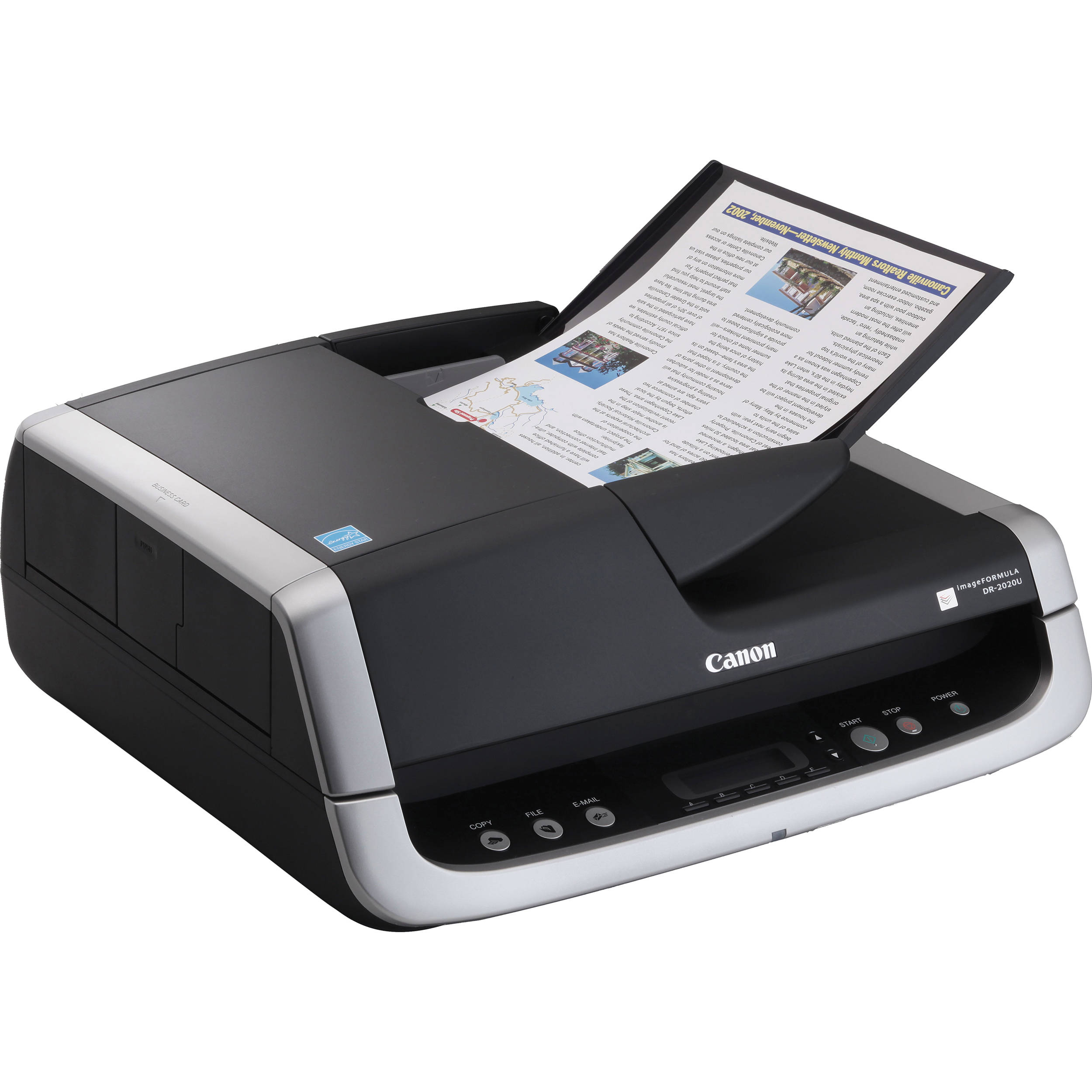 Canon imageFORMULA DR-2020U Universal Workgroup Scanner ...