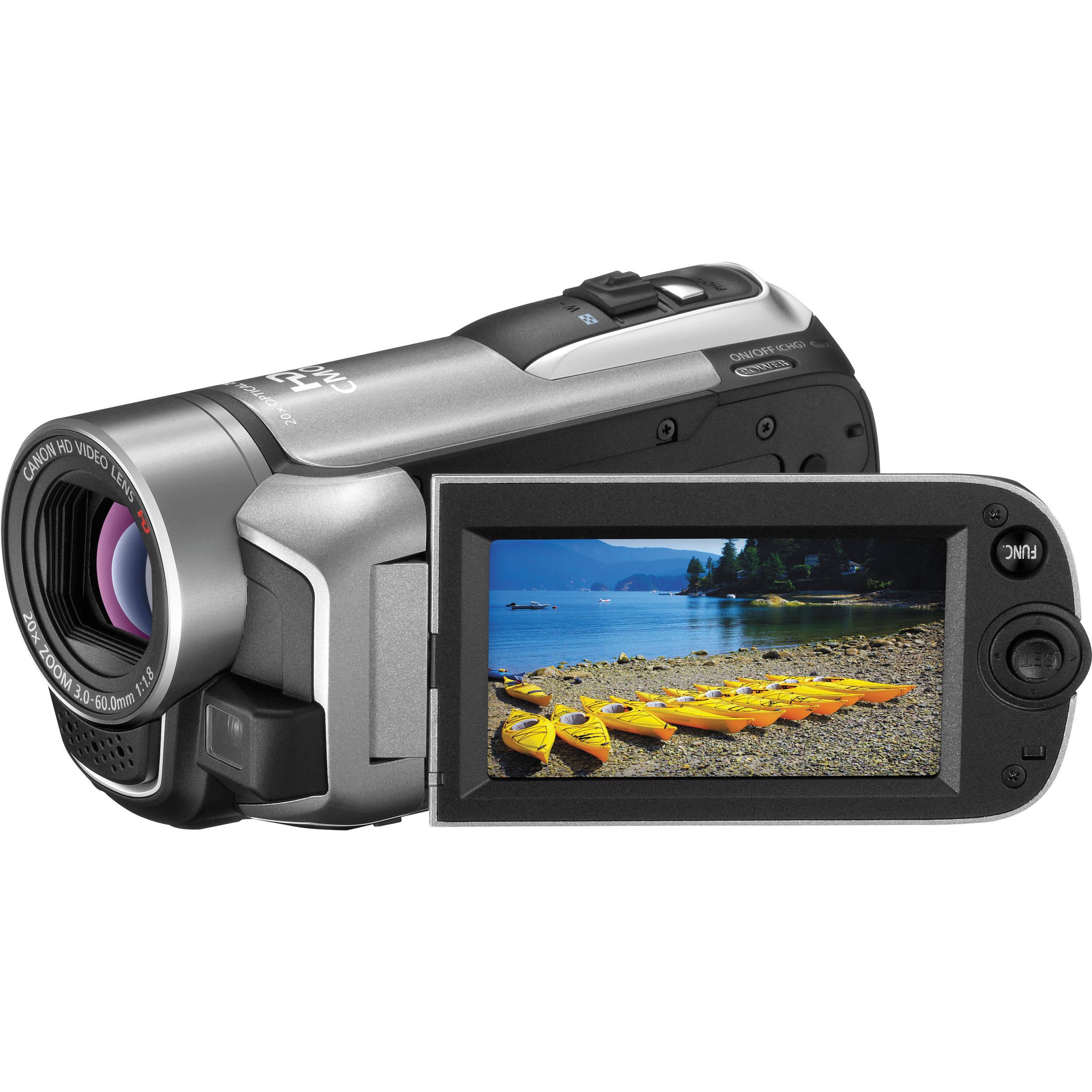 canon vixia hf r10 dual flash memory camcorder silver 4388b001 rh bhphotovideo com  canon vixia hf r10 camcorder manual
