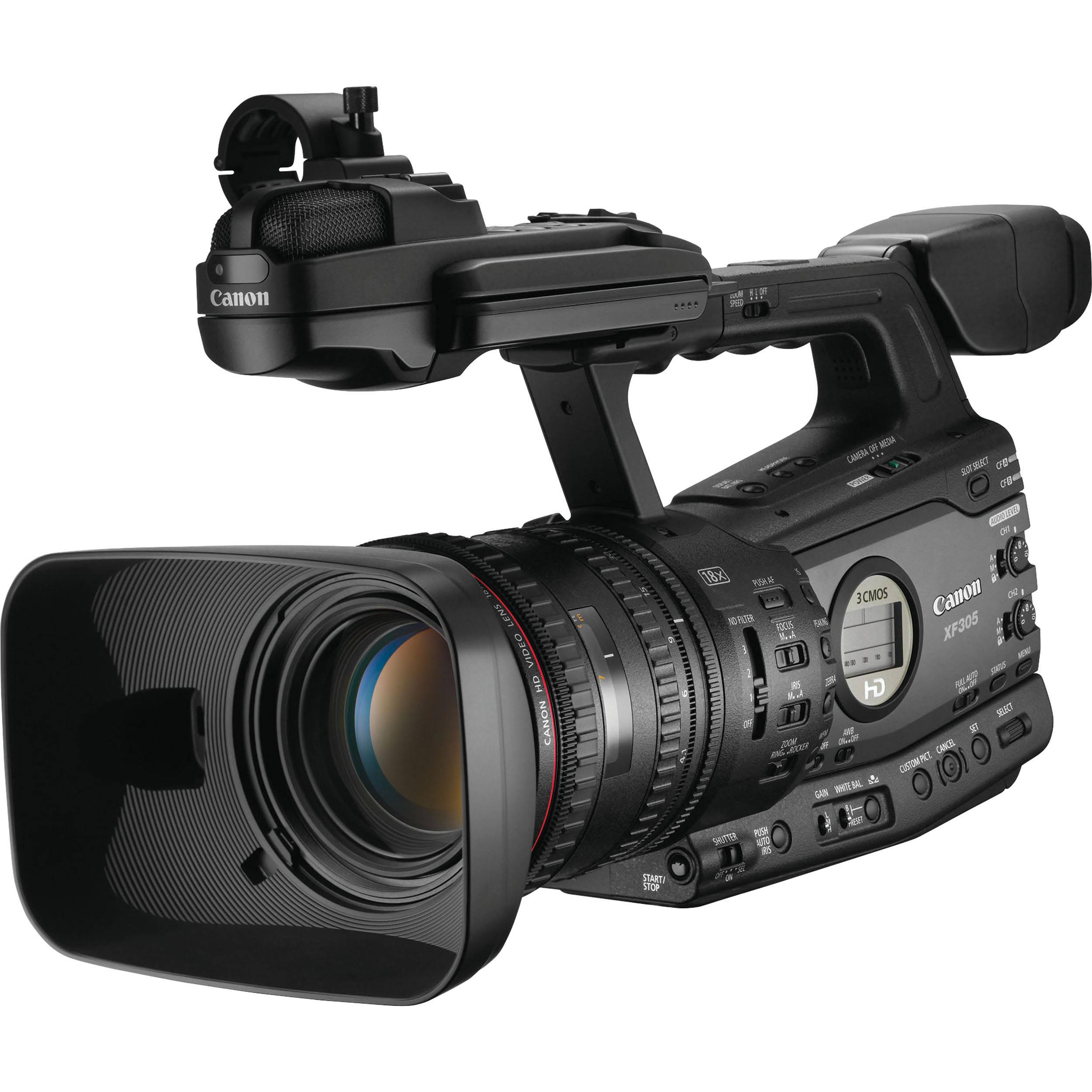 Canon XF305 Professional Camcorder 4454B001 B&H Photo Video