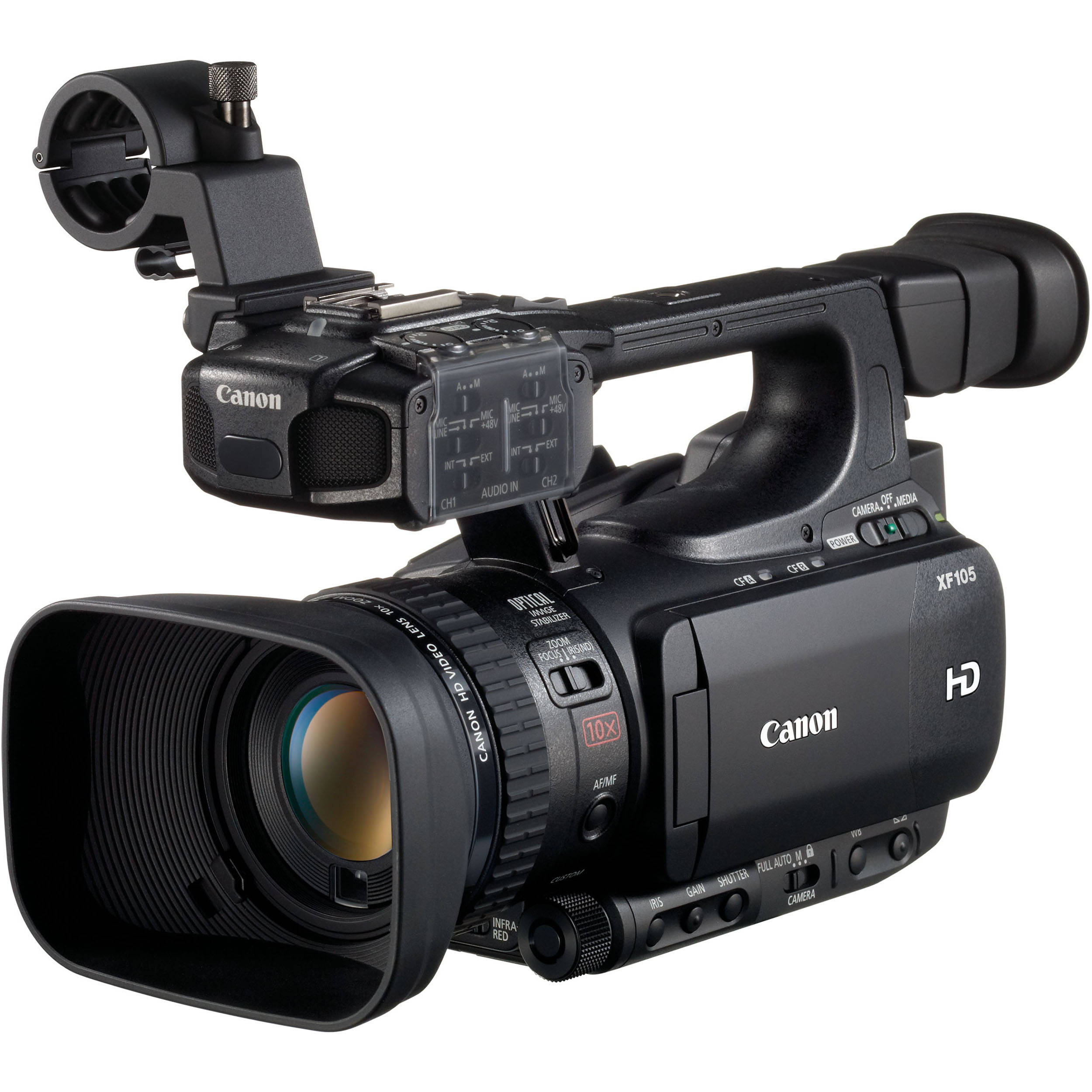 Canon XF105 HD Professional Camcorder 4885B001 B&H Photo Video