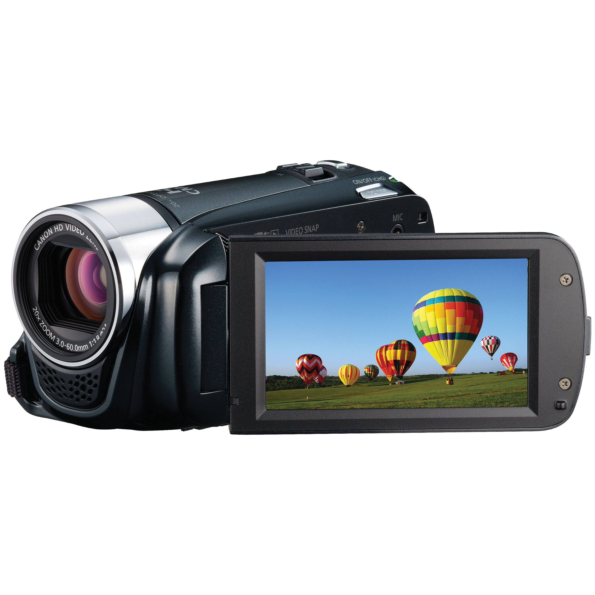 canon vixia hf r20 flash memory camcorder black 4905b001 b h rh bhphotovideo com  canon vixia hf r20 instruction manual