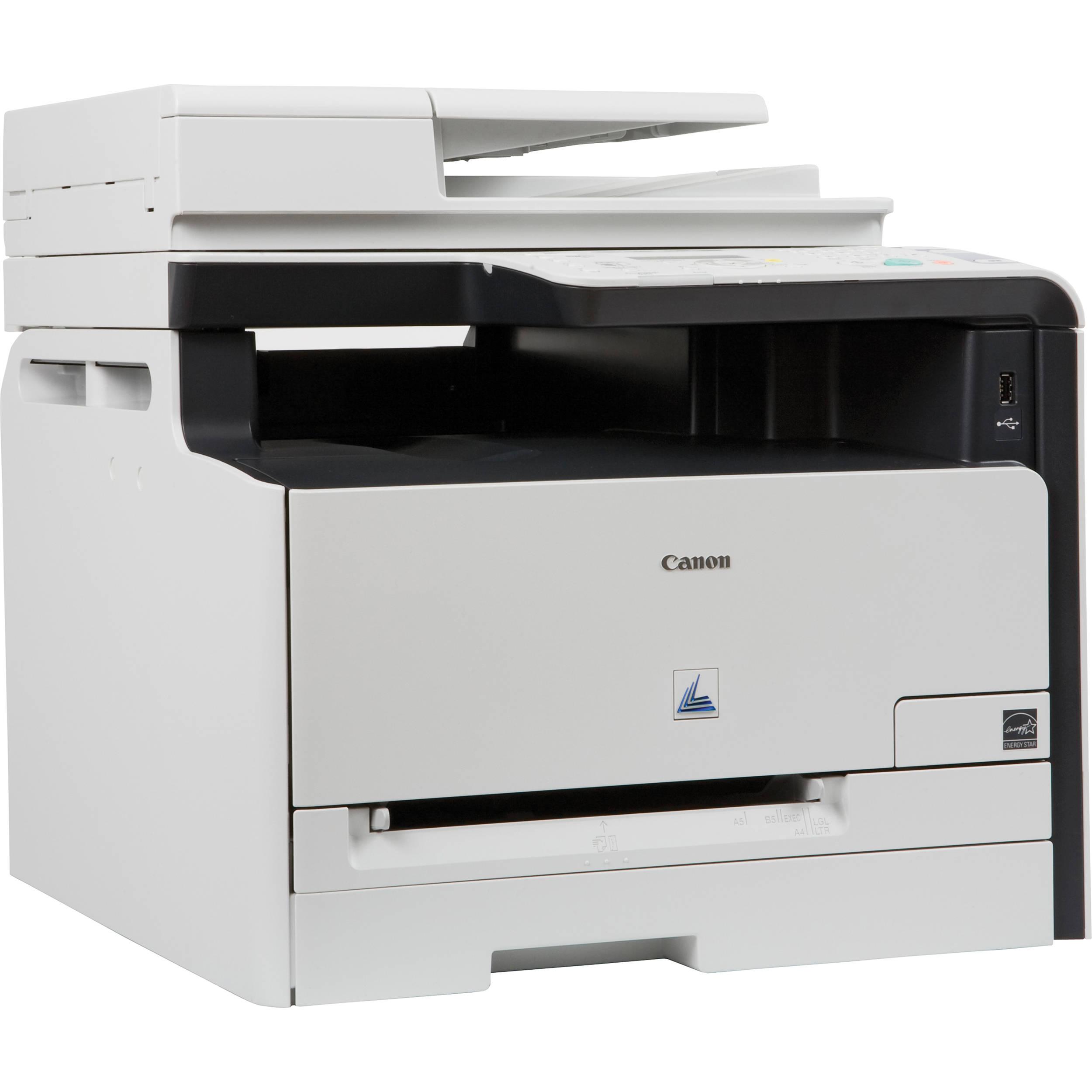 Color printer wireless - Canon Imageclass Mf8080cw All In One Wireless Color Laser Printer