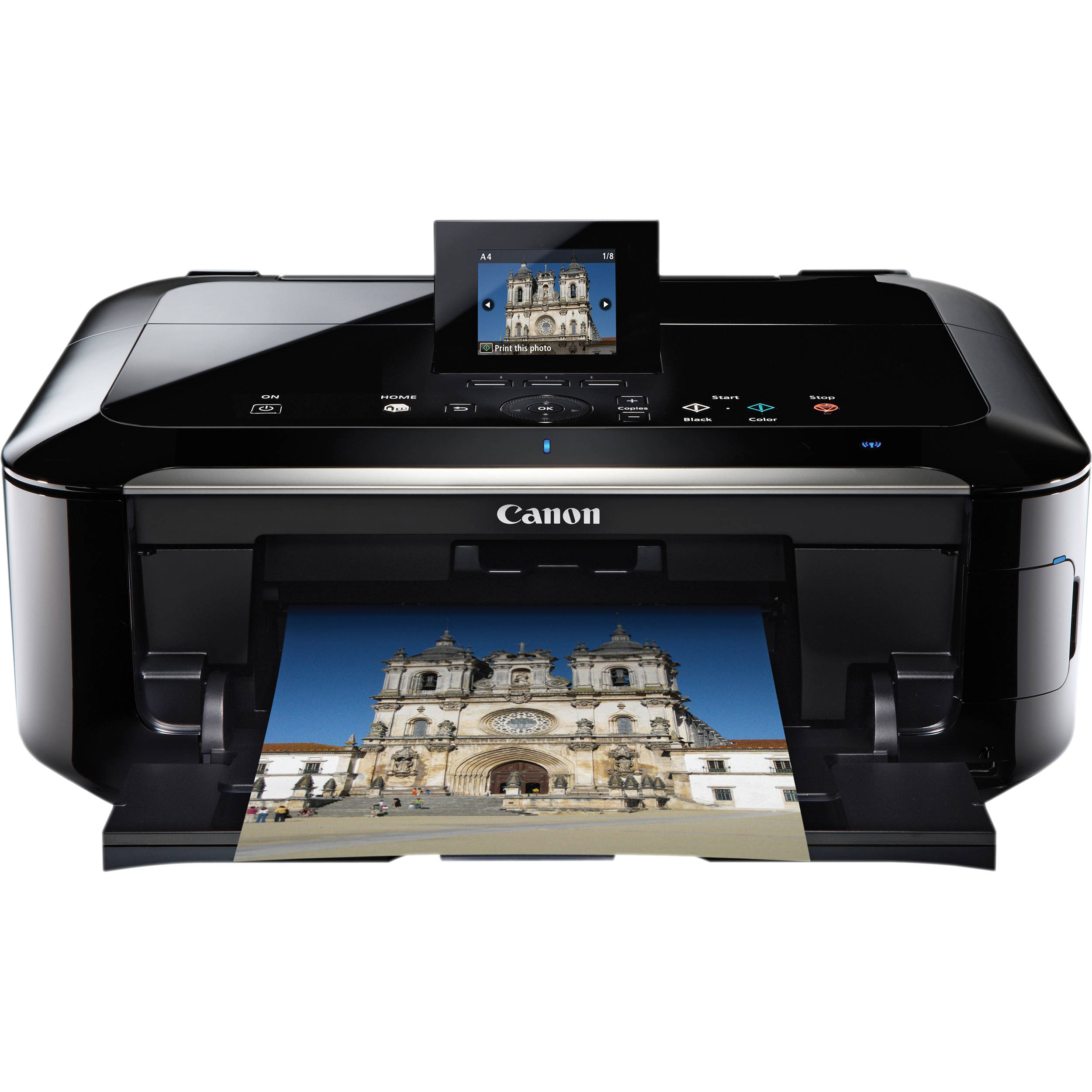 Canon Pixma Mg5320 All In One Color Inkjet Photo Printer The Single Large Doublesided Circuit Board From A Canola