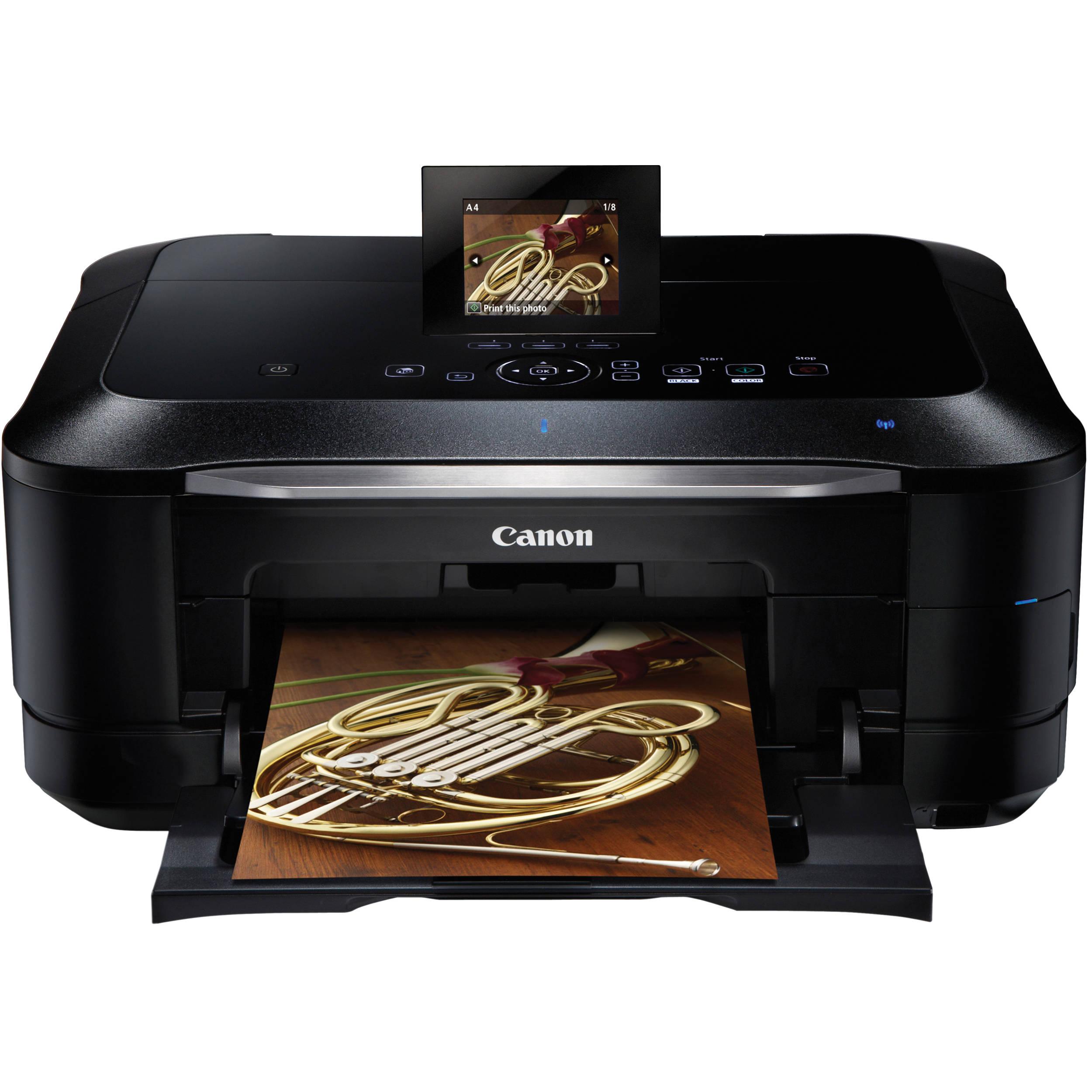 canon pixma mg8220 wireless color all in one inkjet 5293b002 b h rh bhphotovideo com canon pixma mg8200 manual Canon PIXMA Printer Ink Cartridges